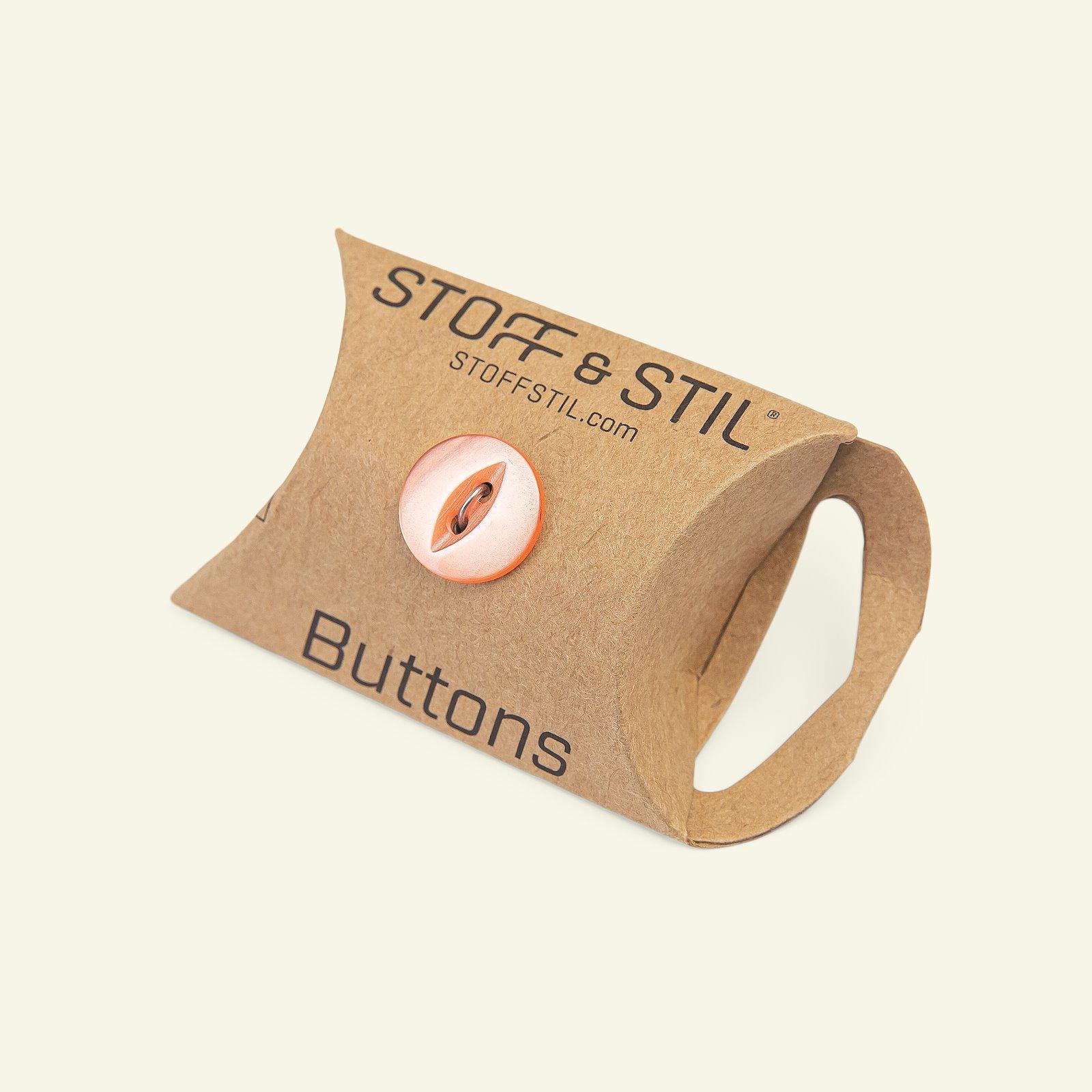 Button 2-holes 14mm orange 8pcs 33219_pack_b