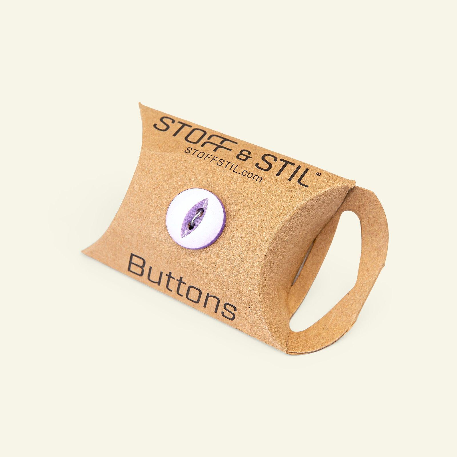 Button 2-holes 14mm purple 8pcs 33326_pack_b