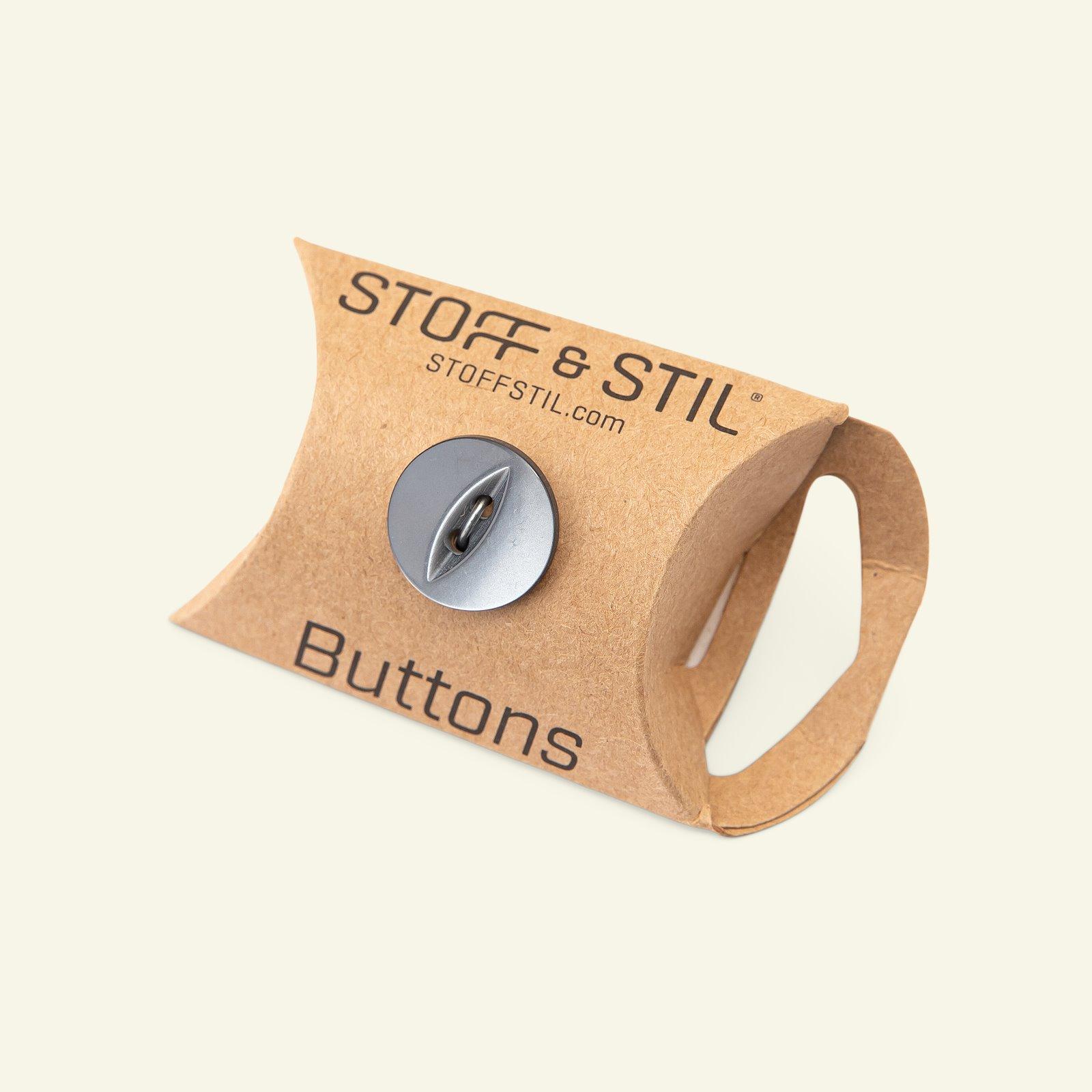 Button 2-holes 16mm grey 6pcs 33109_pack_b