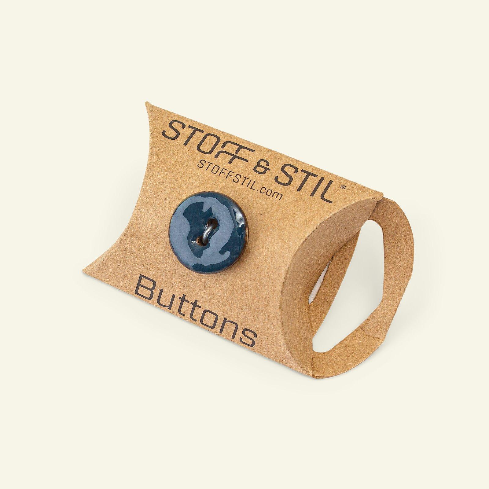 Button 2-holes coconut 18mm navy 6pcs 33211_pack_b