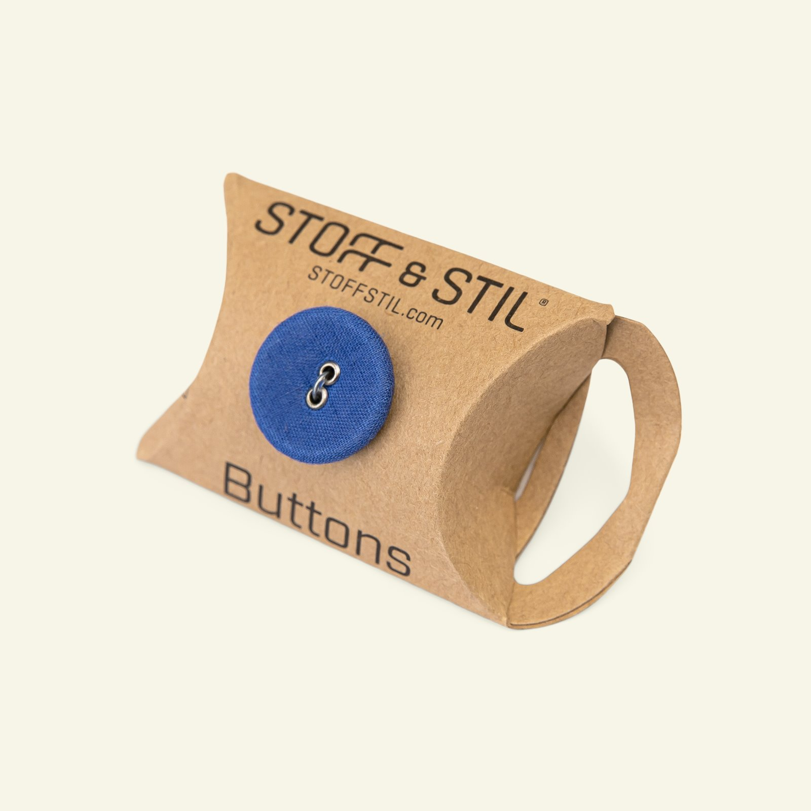 Button 2-holes fabric 20mm blue 6pcs 33301_pack_b