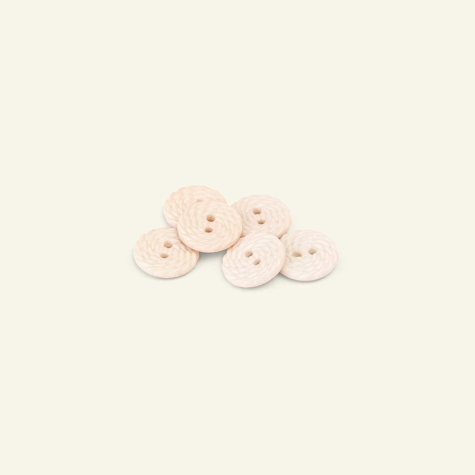 Button 2-holes rope 15mm pink 6pcs 33086_pack