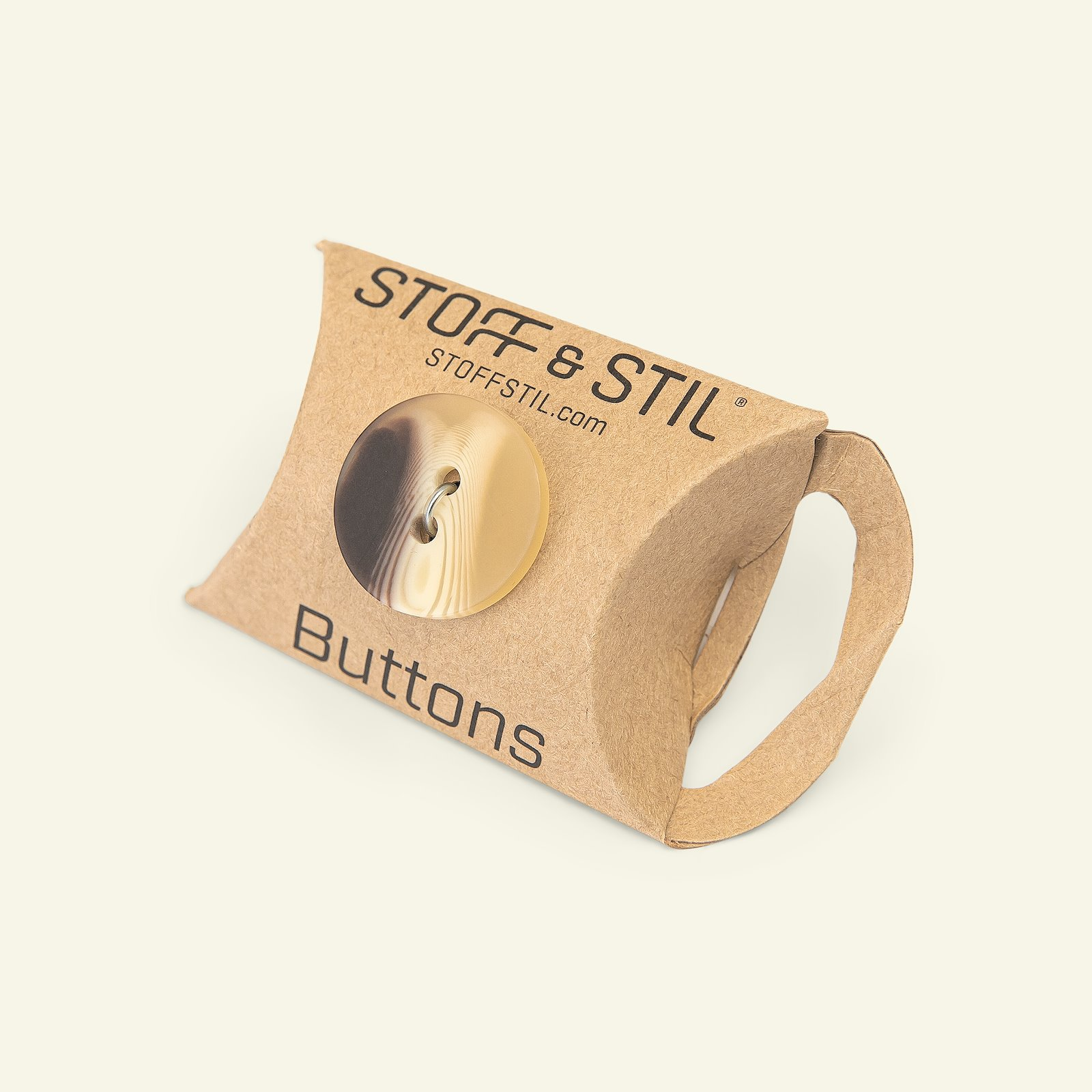 Button 2-holes shaded 22mm brown 2pcs 33599_pack_b