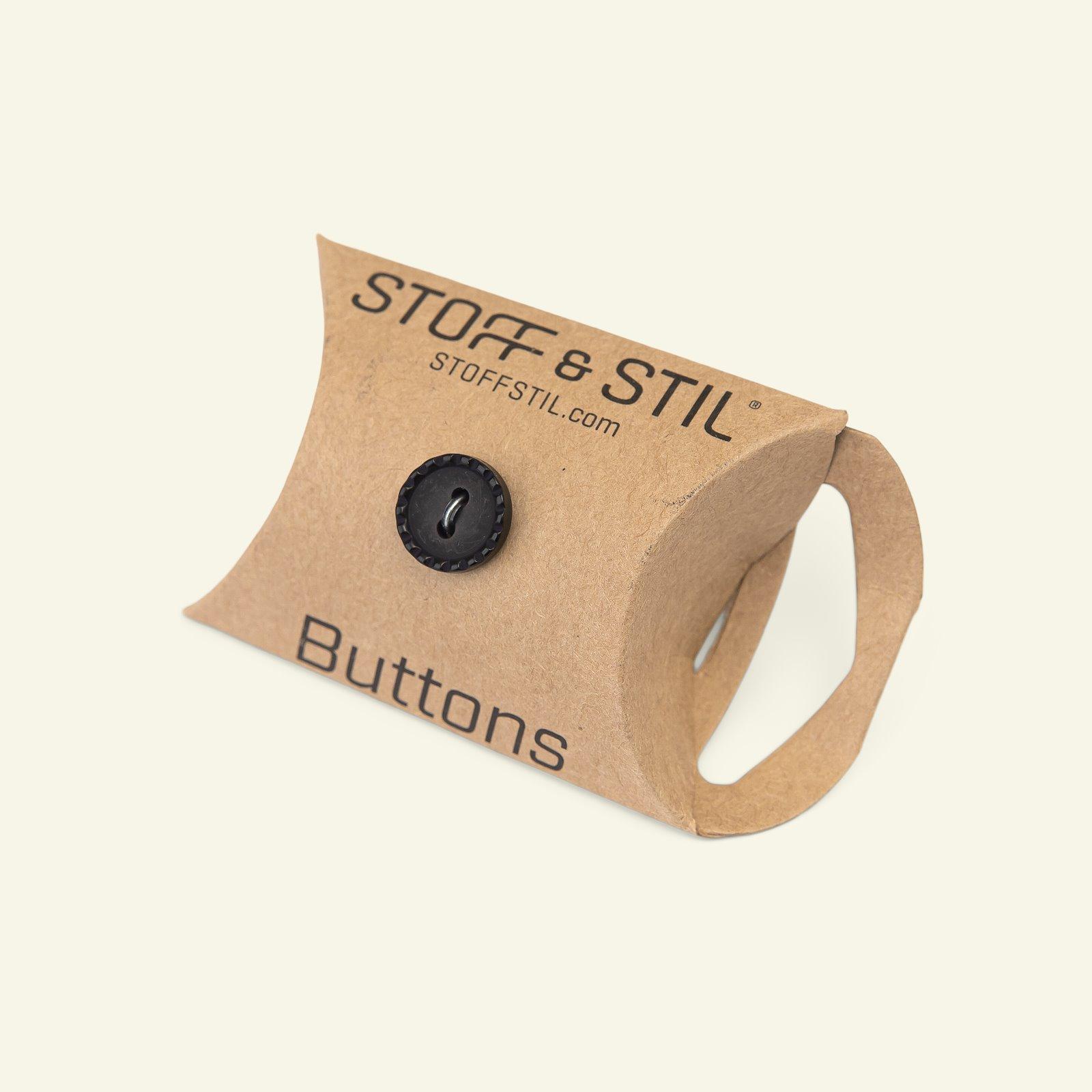 Button 2-holes stitch rim 12mm black 8pc 33123_pack_b
