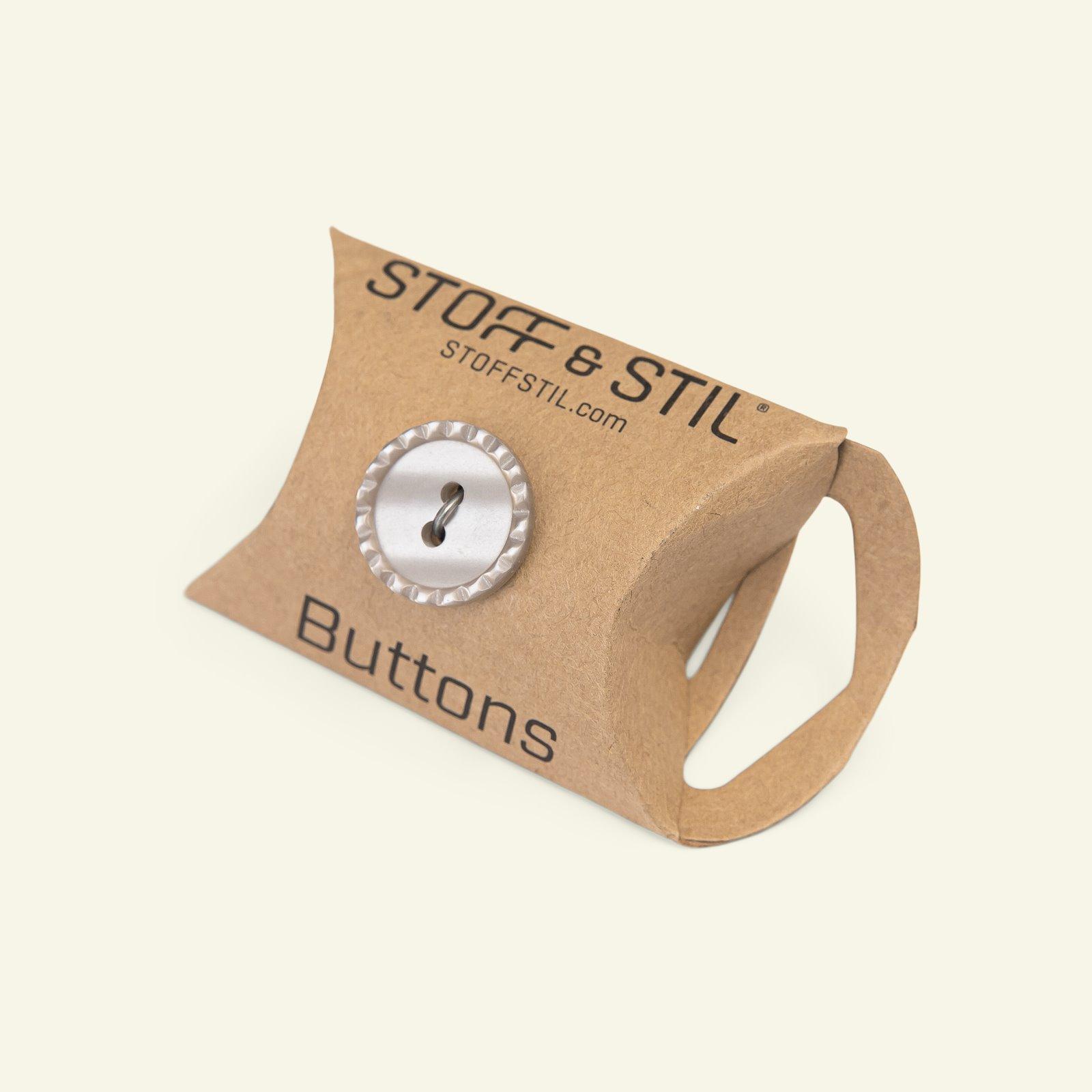 Button 2-holes stitch rim 18mm brown 5pc 33020_pack_b
