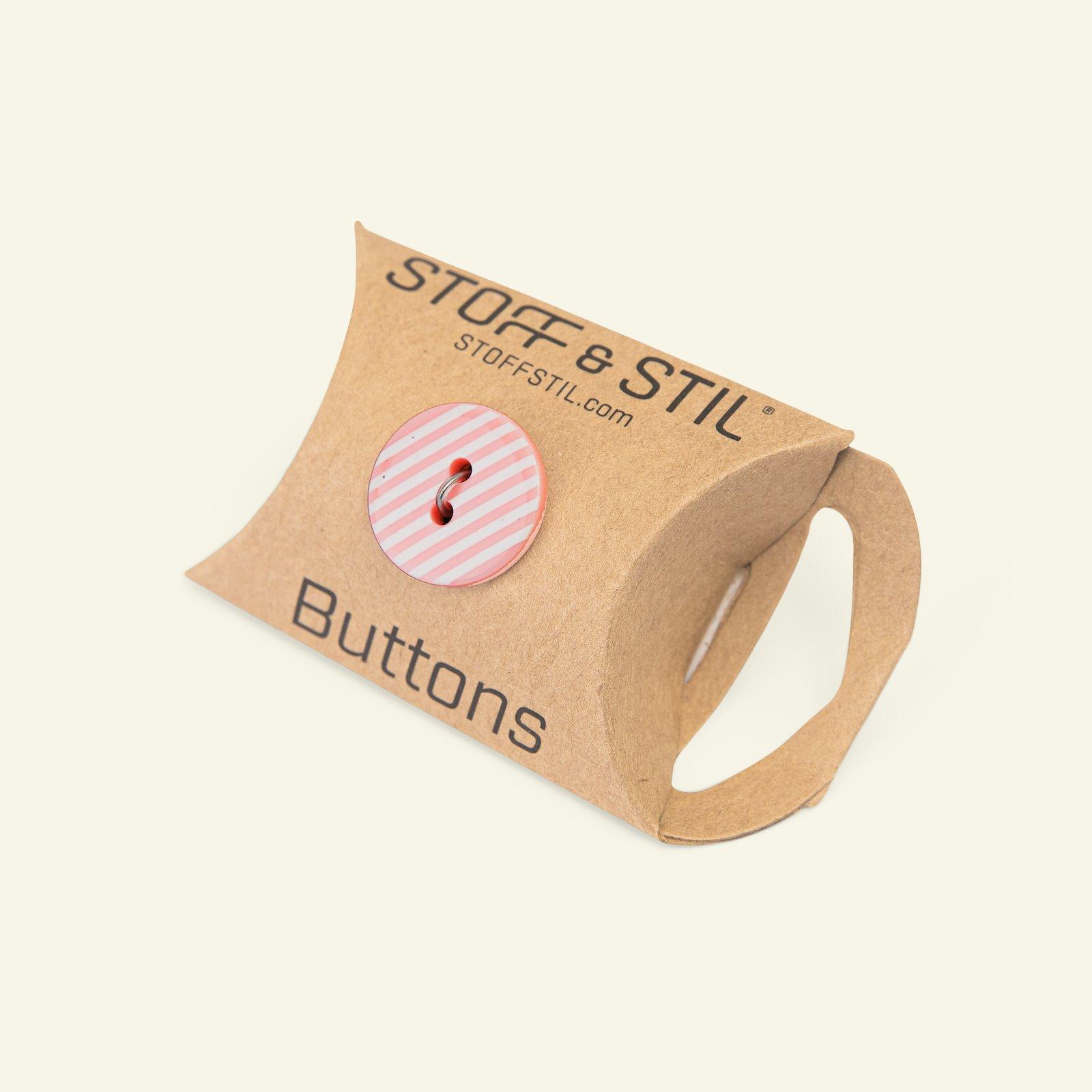 Button 2-holes stripes 18mm pink 4pcs 33348_pack_b