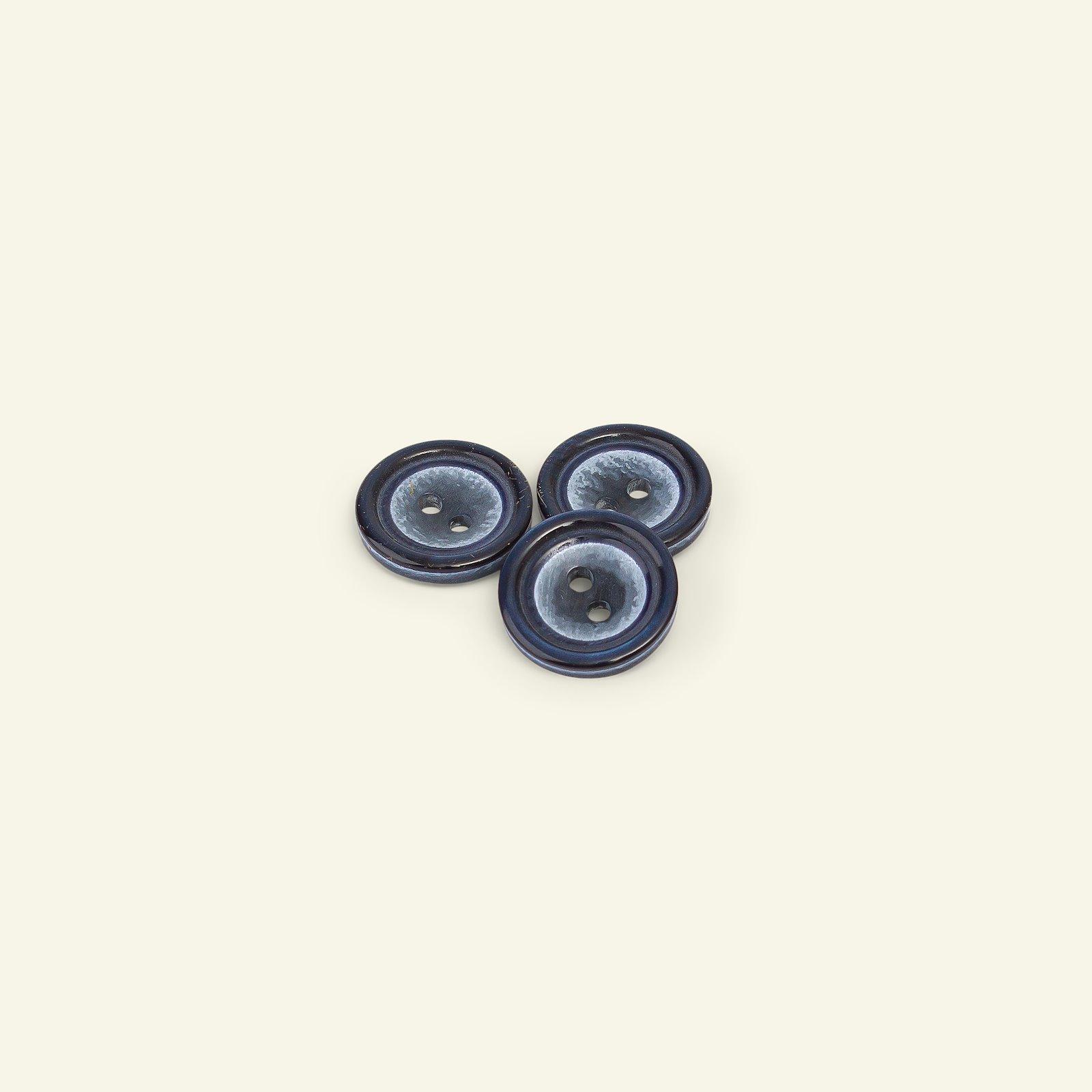 Button 2-holes w/rim 18mm navy 4pcs 33138_pack