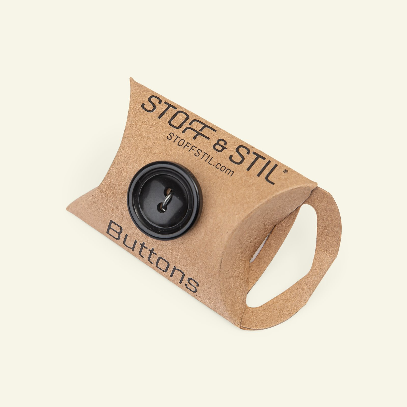 Button 2-holes w/rim 20mm black 3pcs 33139_pack_b