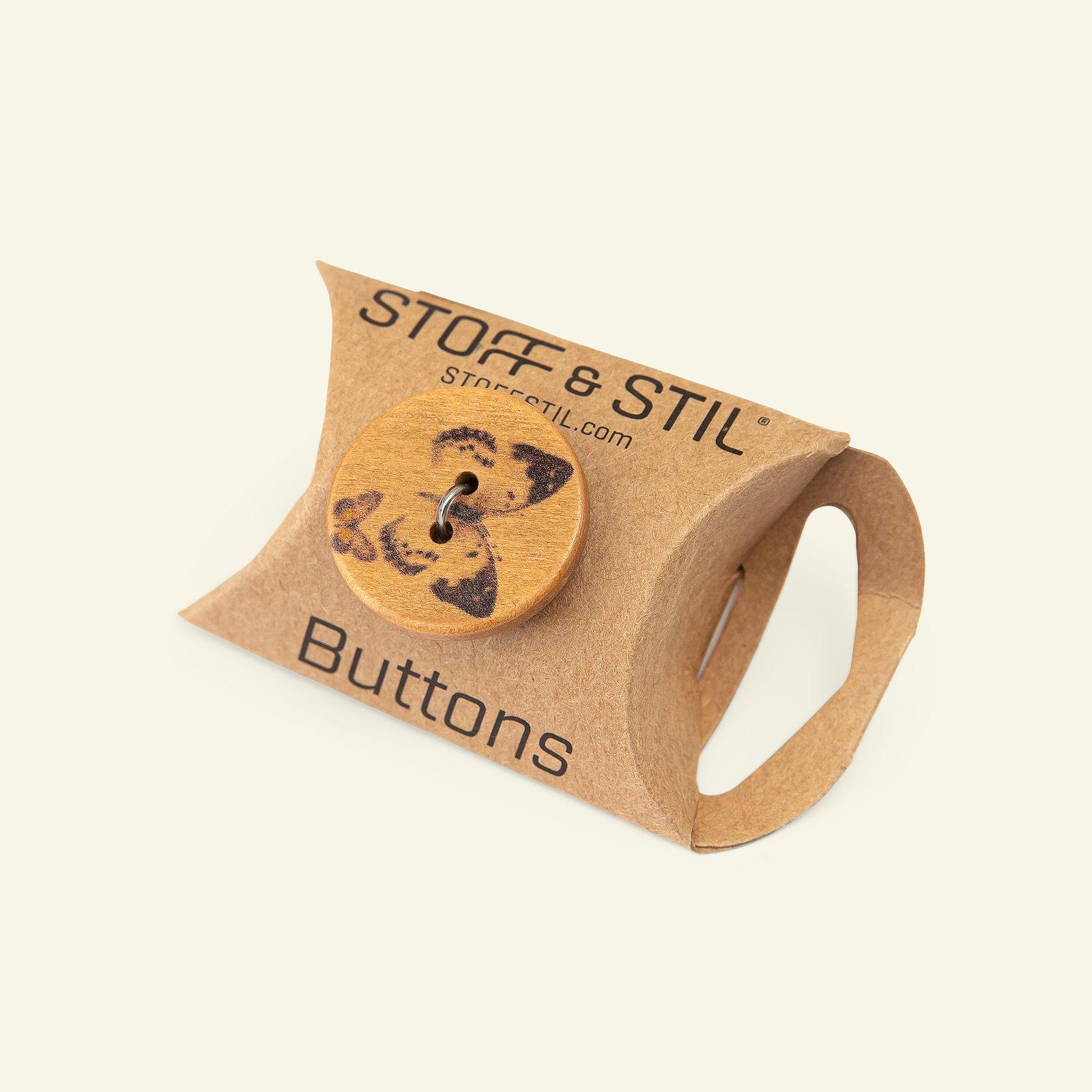 Button 2-holes wood 25mm black 5pcs 33501_pack_b