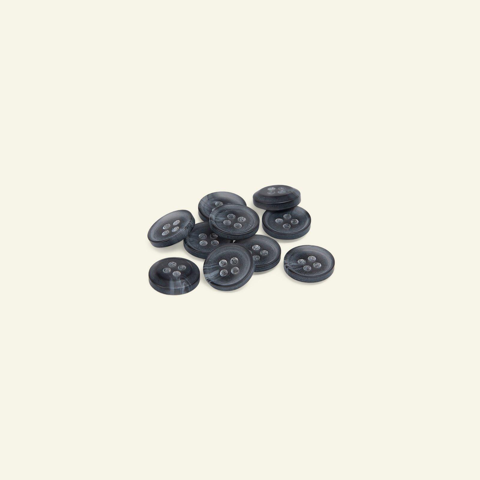 Button 4-holes 11mm dark grey 10pcs 40234_pack