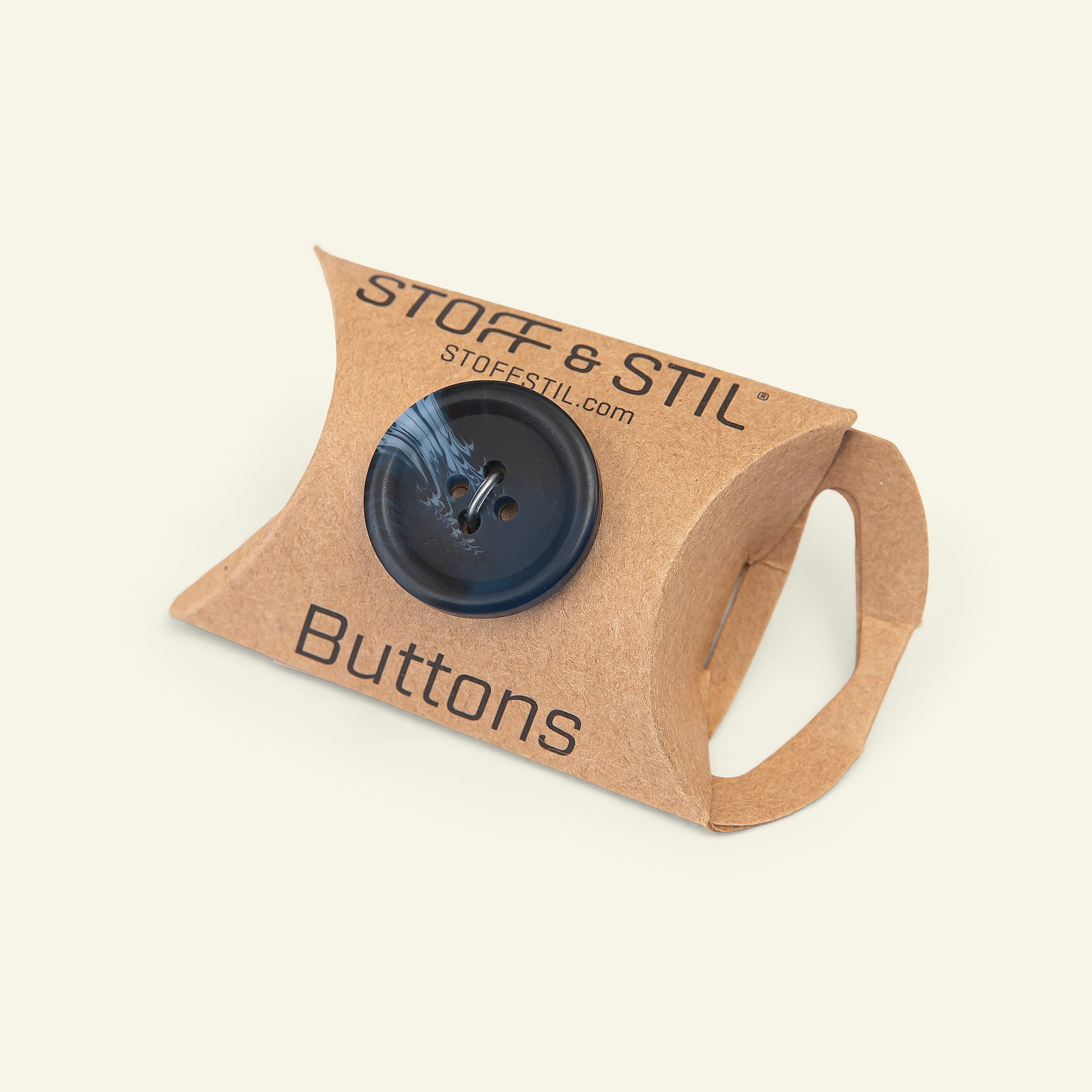 Button 4-holes marble 23mm blue 4pcs 33118_pack_b