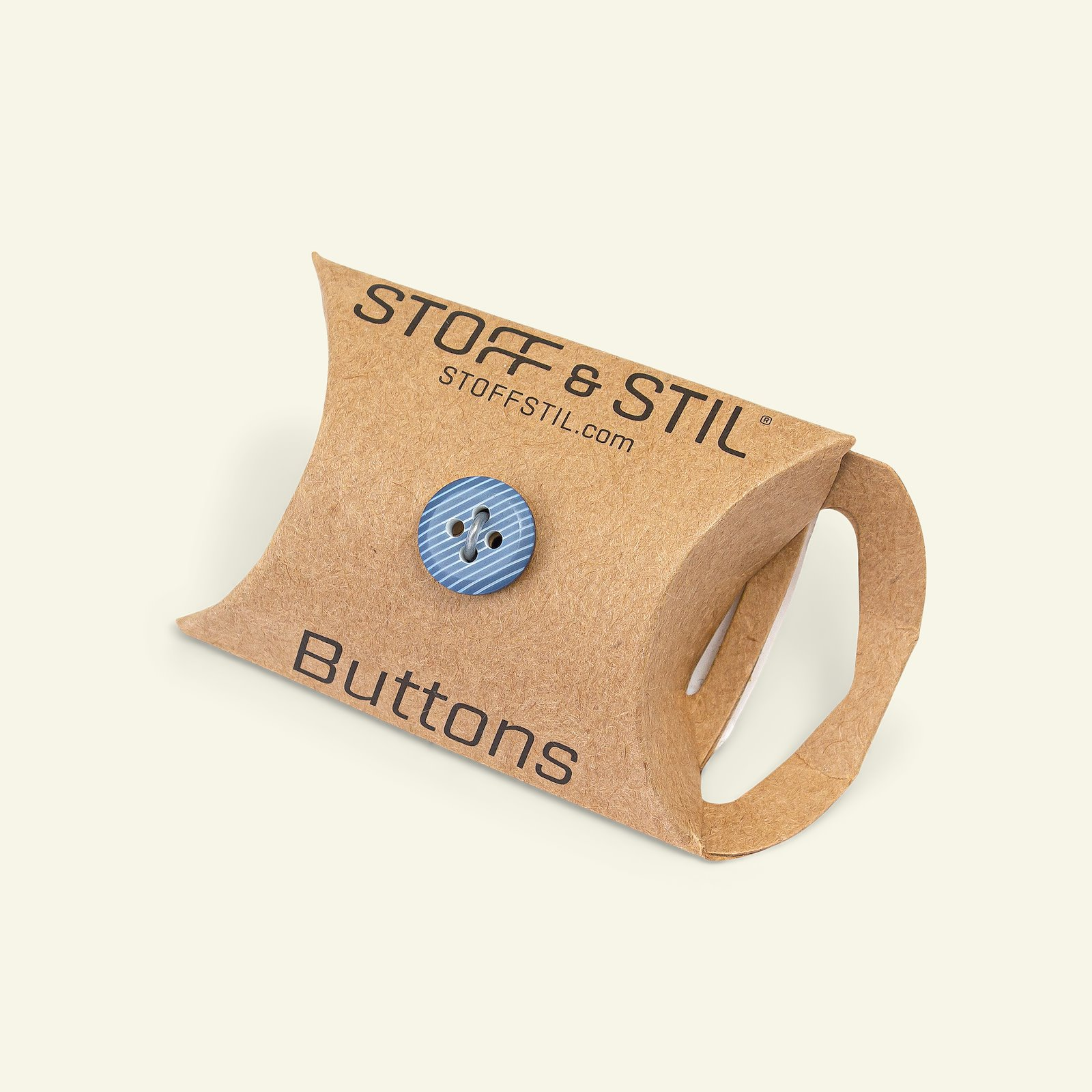 Button 4-holes stripe 12mm blue 6pcs 33160_pack_b