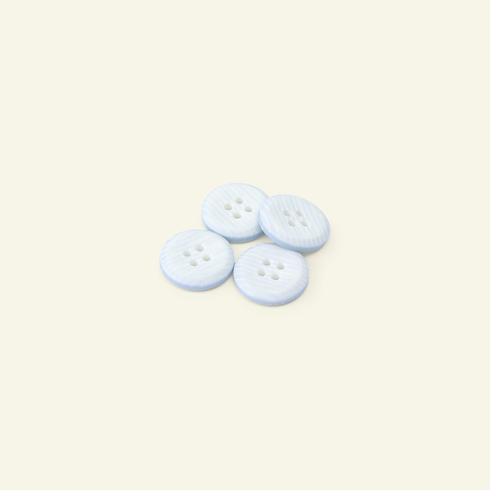 Button 4-holes stripe 16mm baby blue 4pc 33280_pack