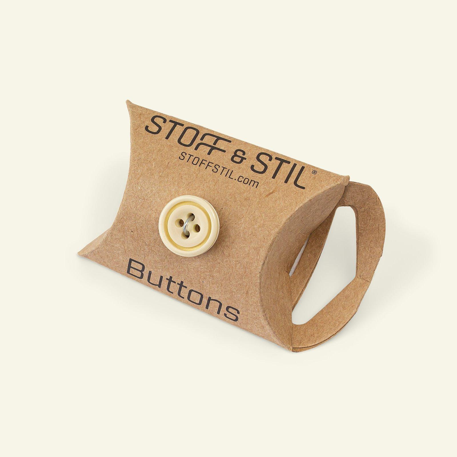 Button 4-holes w/rim 14mm brown/white 6p 33068_pack_b