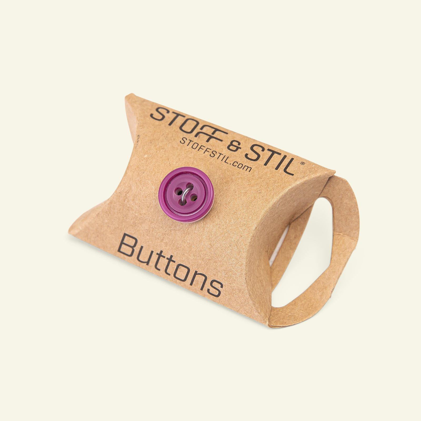 Button 4-holes w/rim 14mm purple/rose 6p 33397_pack_b