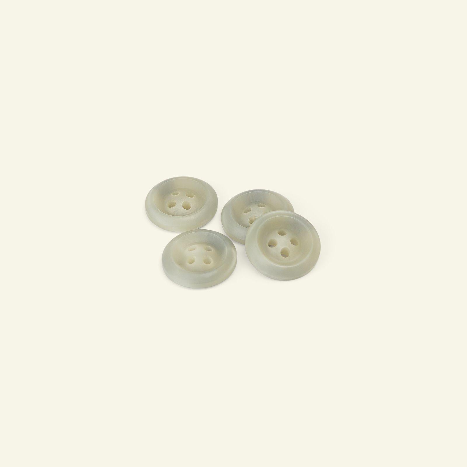 Button 4-holes w/rim 18mm grey 4pcs 33063_pack