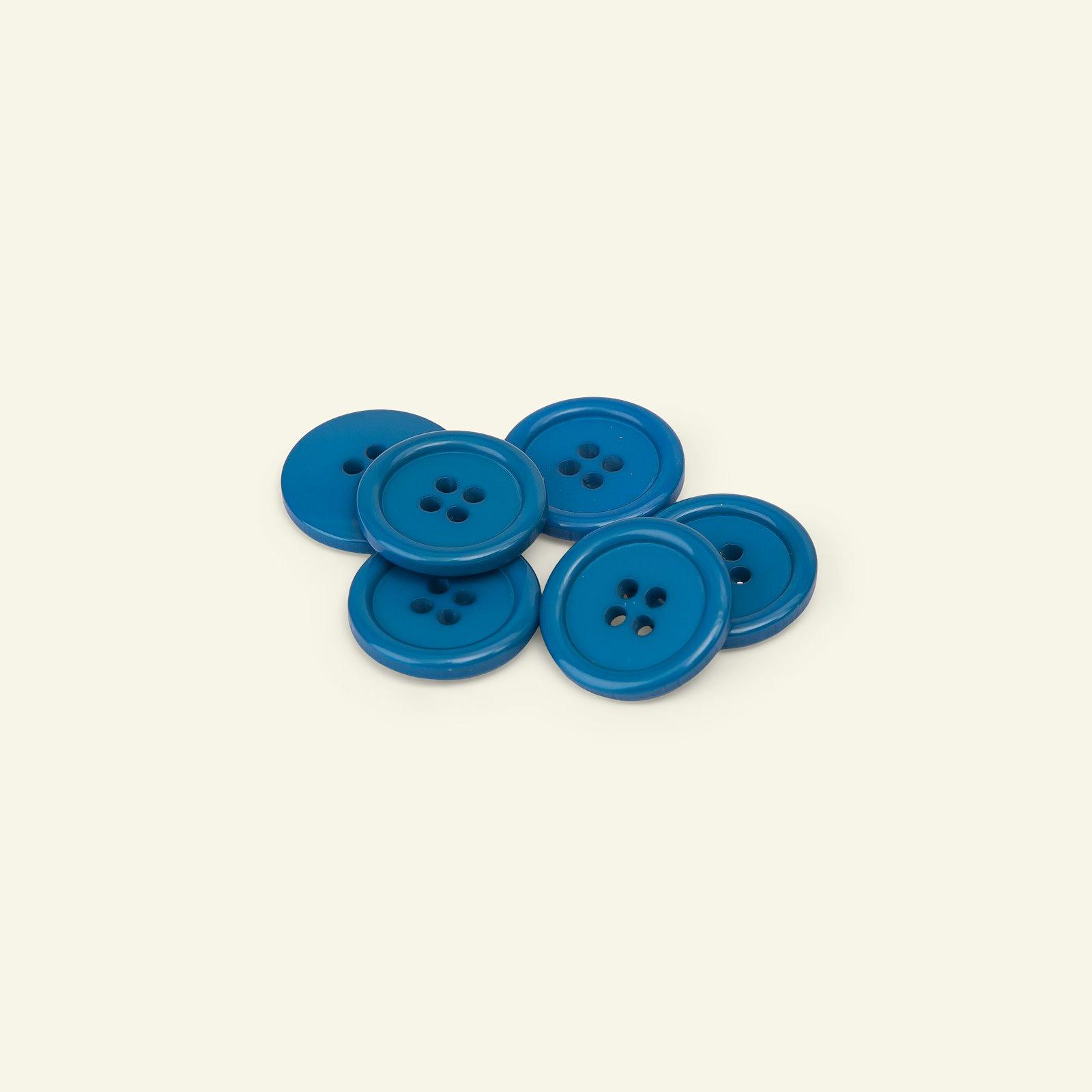 Button 4-holes w/rim 20mm navy 6pcs 33234_pack