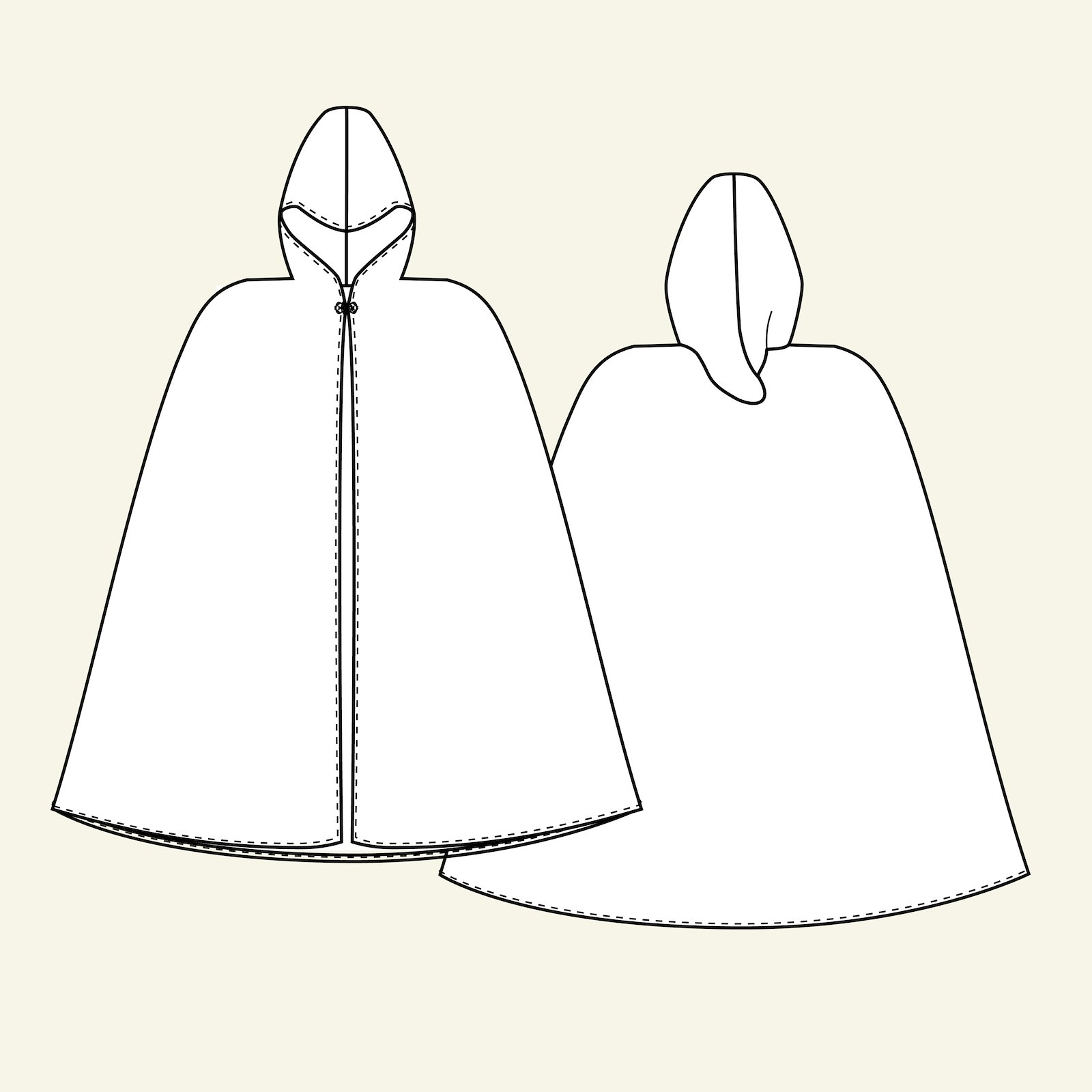 Cape, 122/6-8y p29103_pack