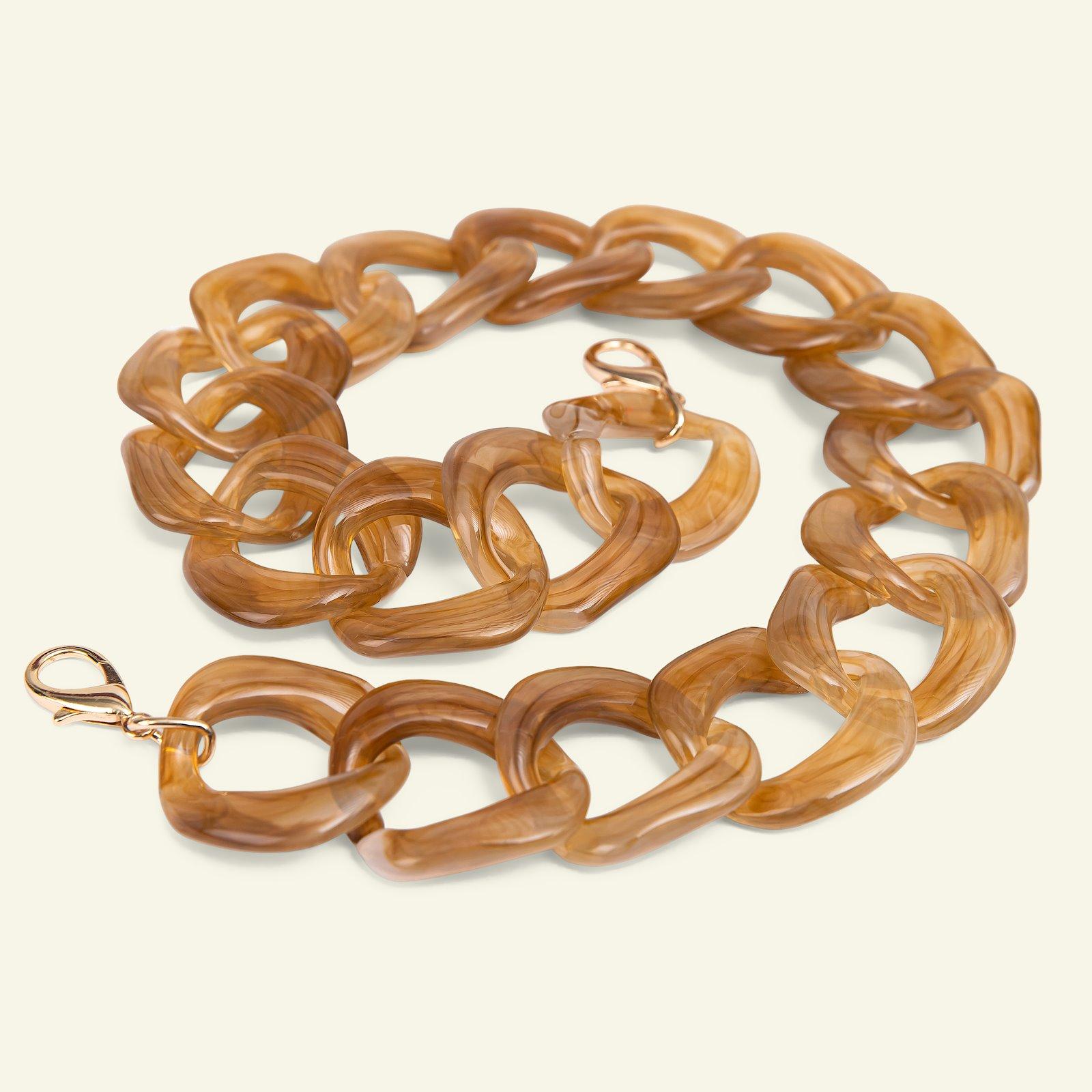 Chain handle 53cm caramel 1pc 46302_pack