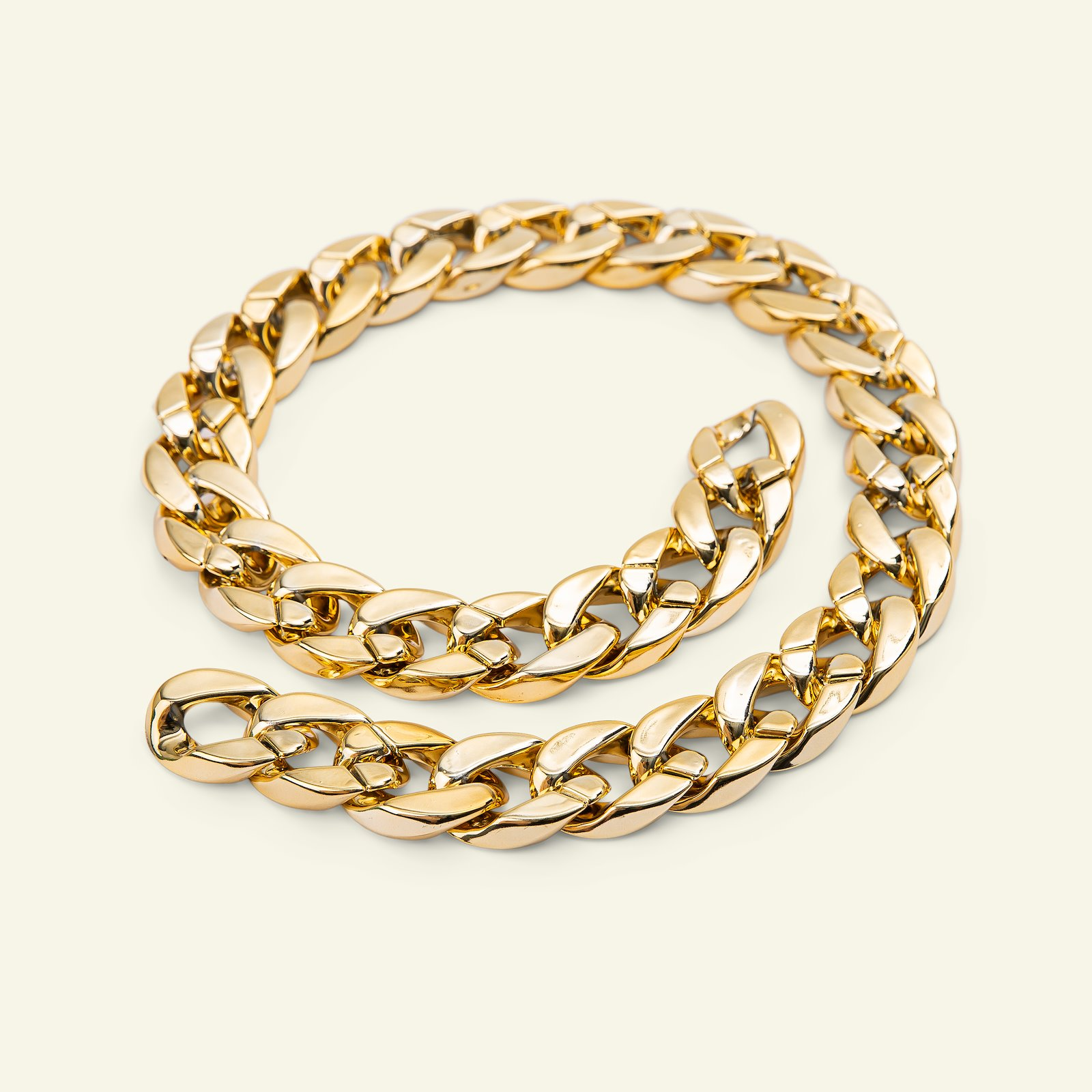 Chain polyester 20mm gold 150cm 38101_pack