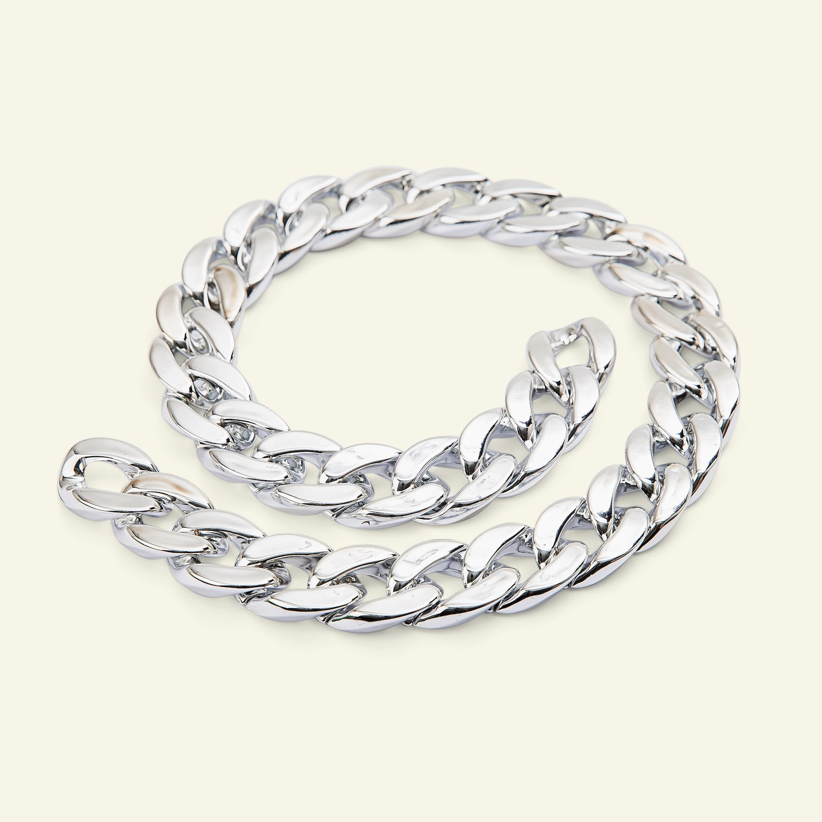 Chain polyester 20mm silver 150cm 38100_pack