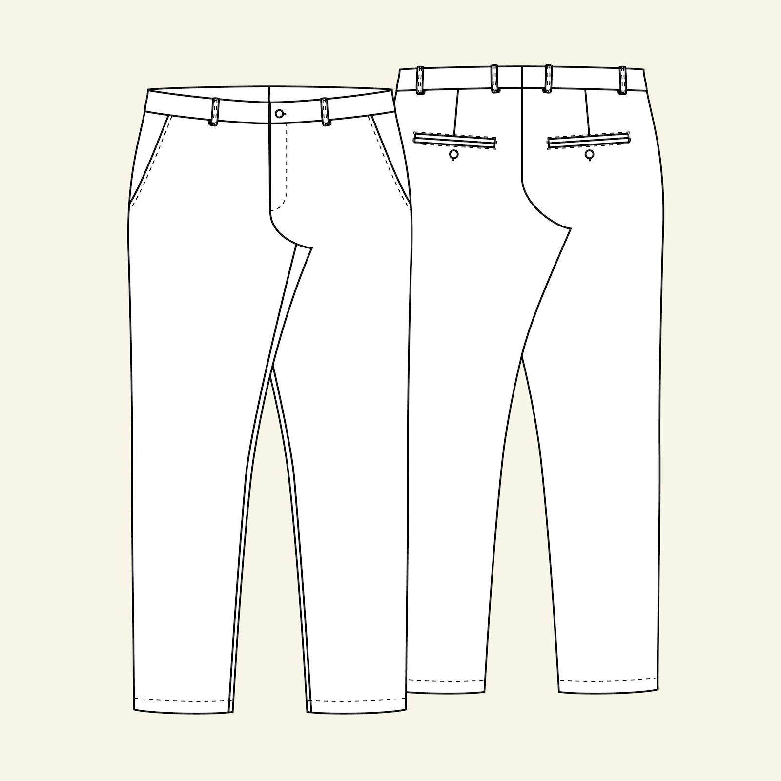 Chino trousers, 48 p85001_pack