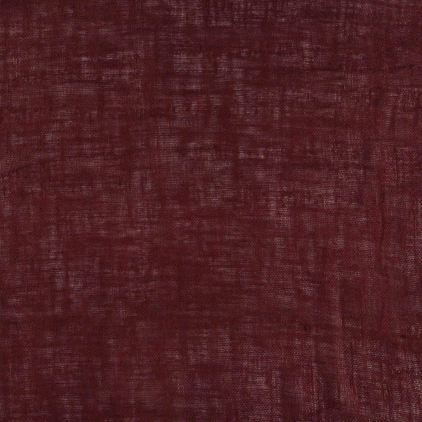 Coarse hessian dark bordeaux 9182_pack_solid