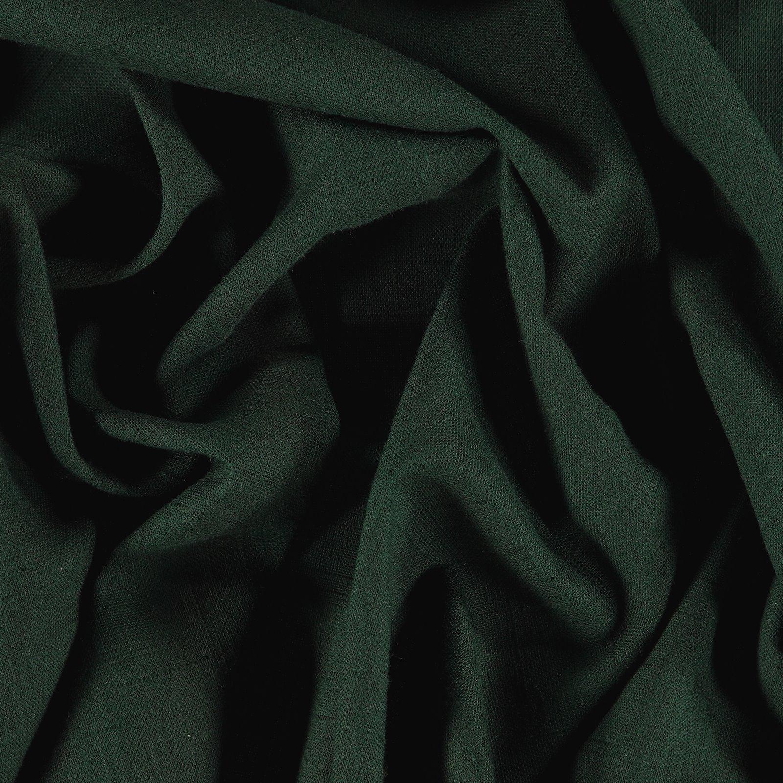 Coarse linen/viscose dark bottle green 852320_pack