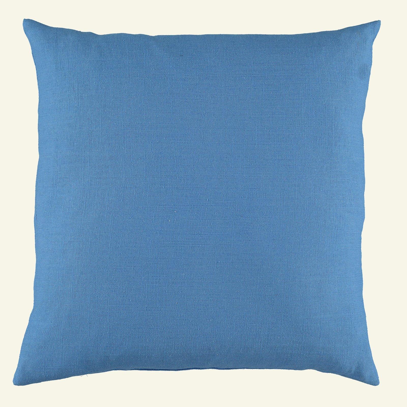 Coarse linen/viscose light cobalt blue 852357_sskit