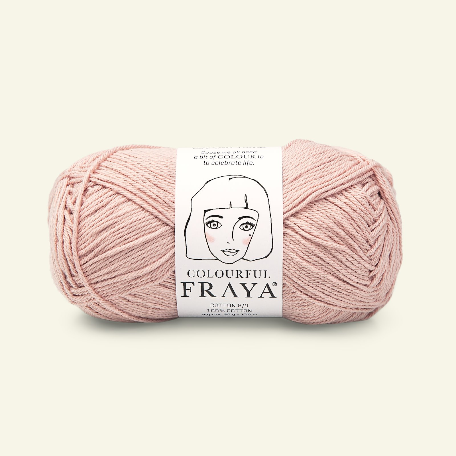 Colourful dusty rose 50g 90060089_pack
