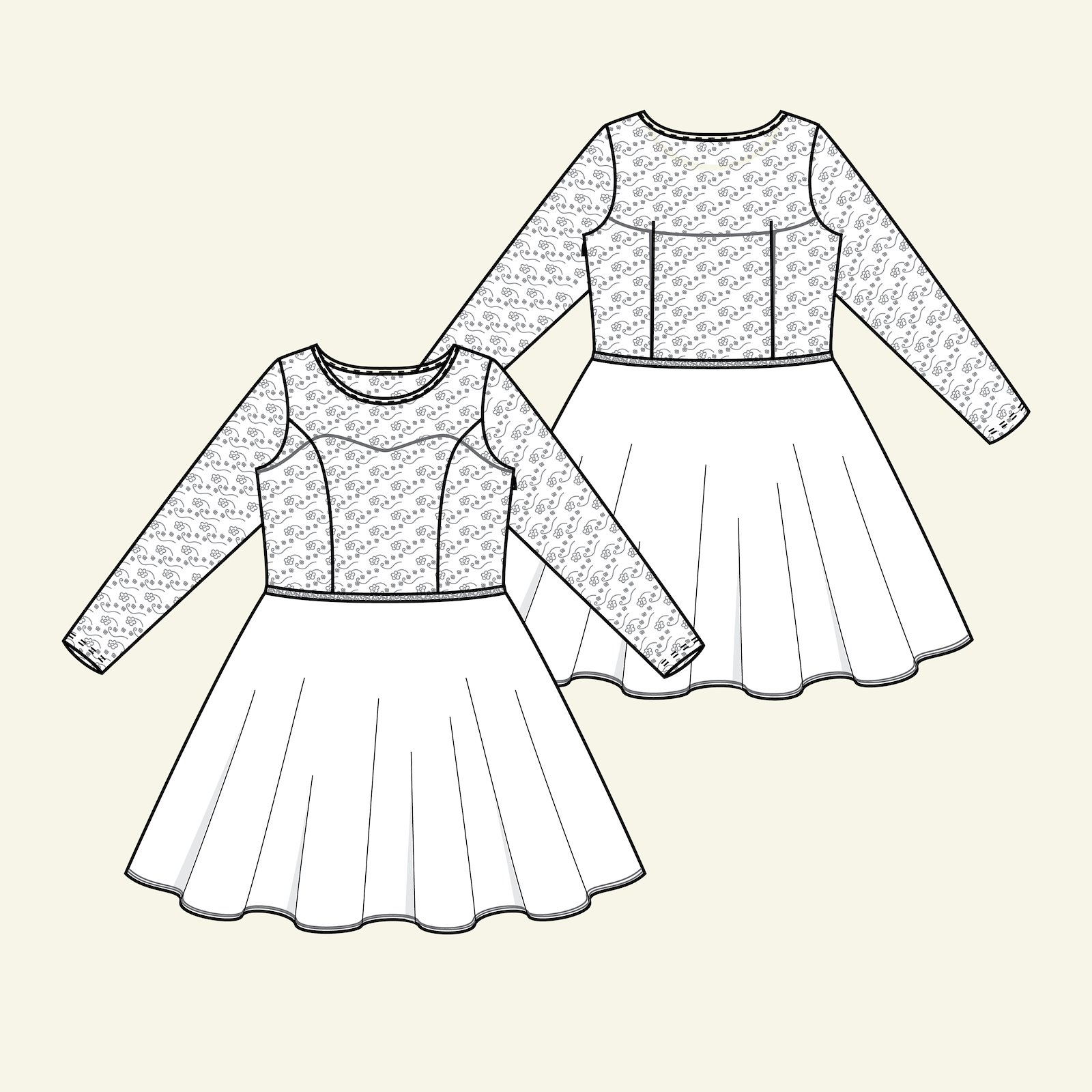 Confirmation dress, 42/14 p23158_pack