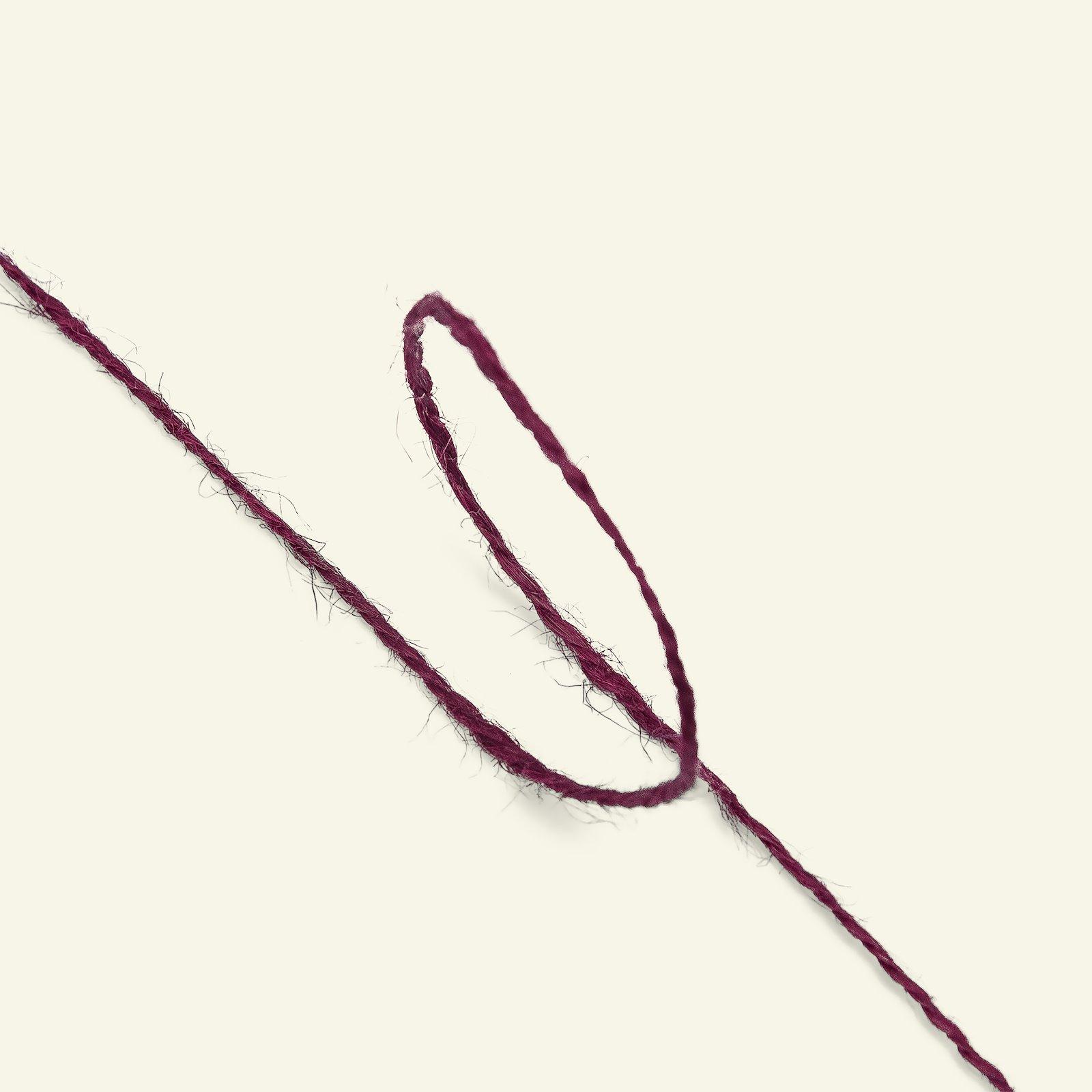 Cord linen bordeaux 25 m 93407_pack