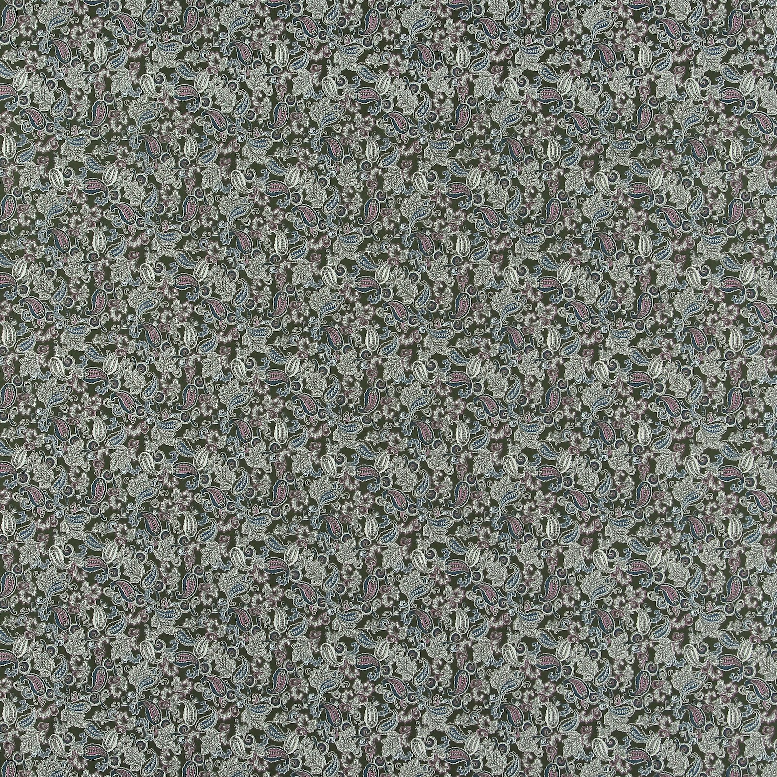 Cotton army green w paisley pattern 852415_pack_sp