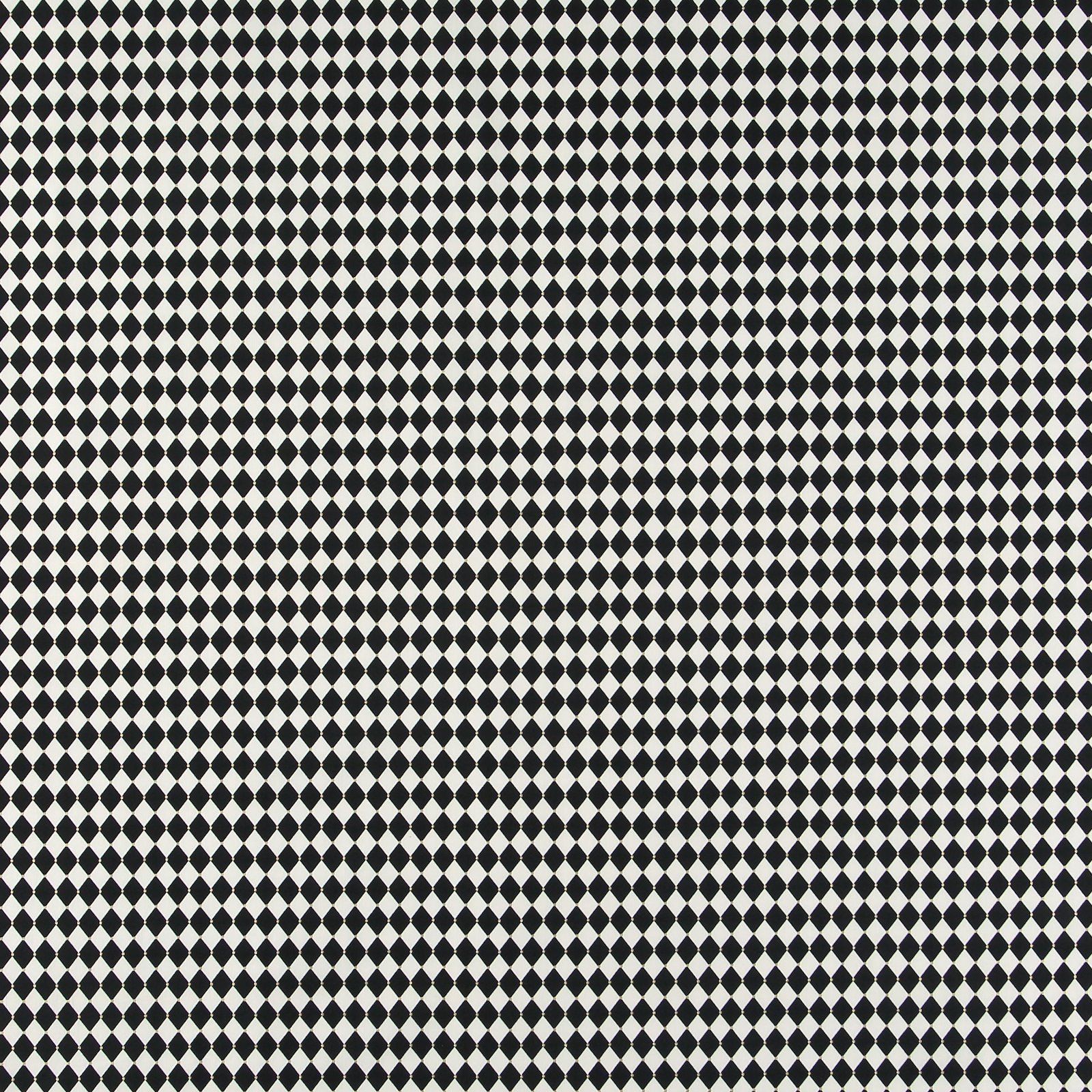 Cotton black and white harlequin checks 852394_pack_sp