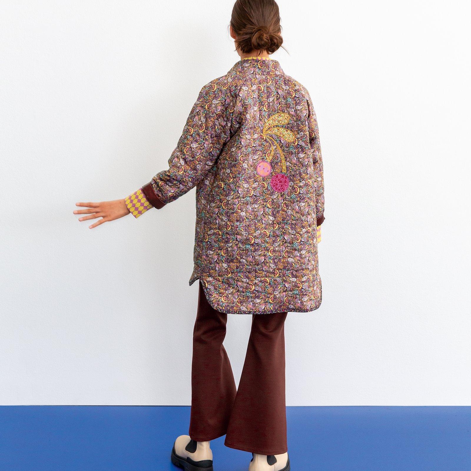 Cotton chestnut brown paisley pattern p64019_852409_22344_9901_7014_DIY1018_852414_852413_852410_p60038_420419_bundle