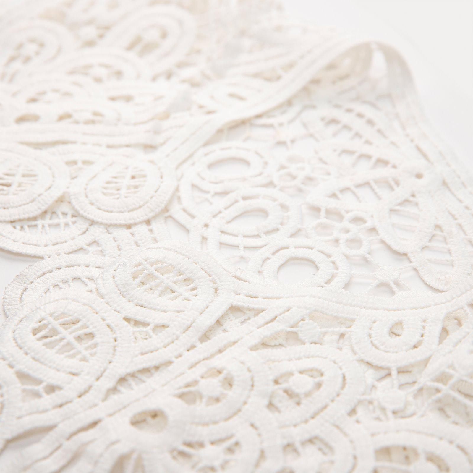 Cotton collar lace 70x17cm white 1pc 25161_sskit_b