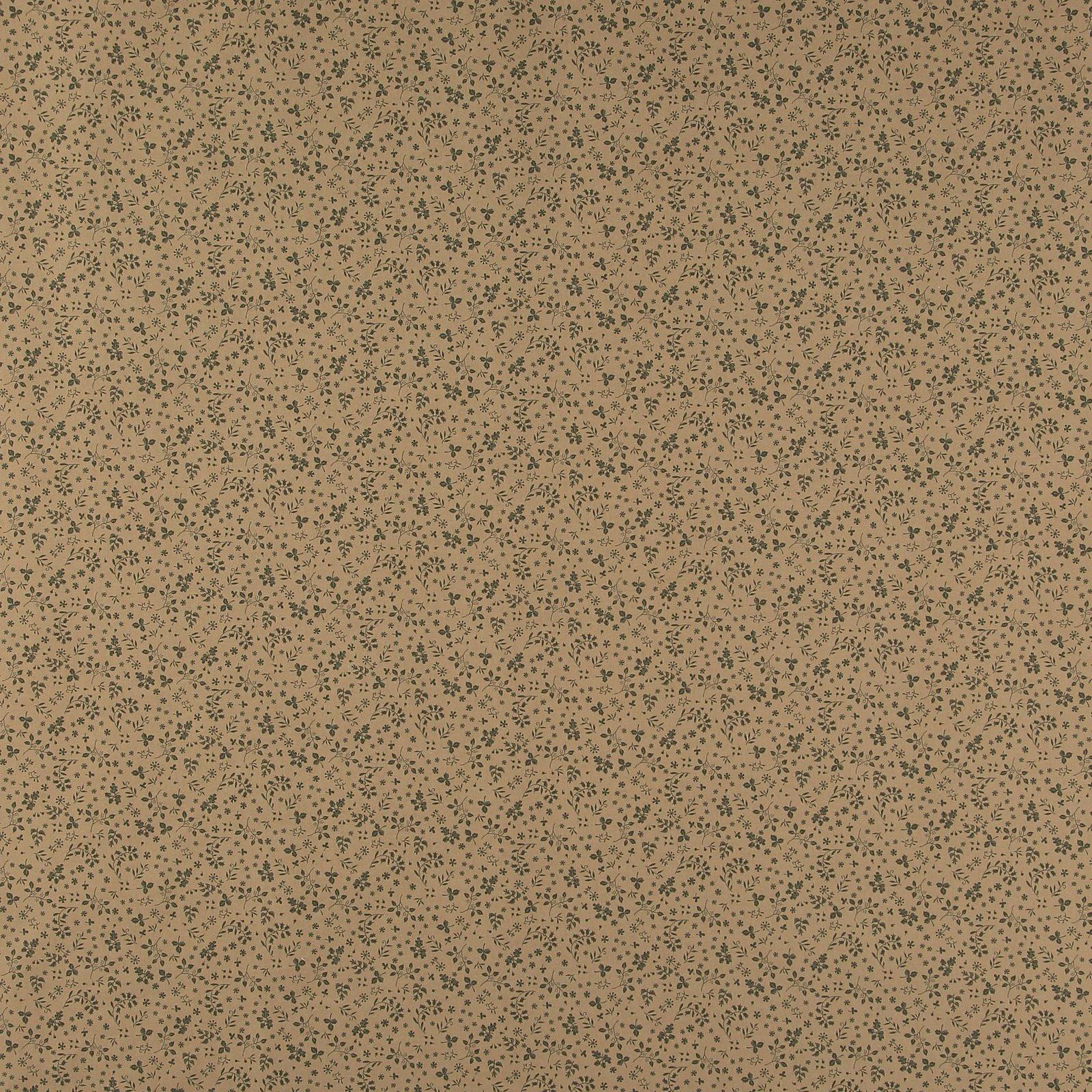 Cotton dark beige w army green leaves 852400_pack_sp