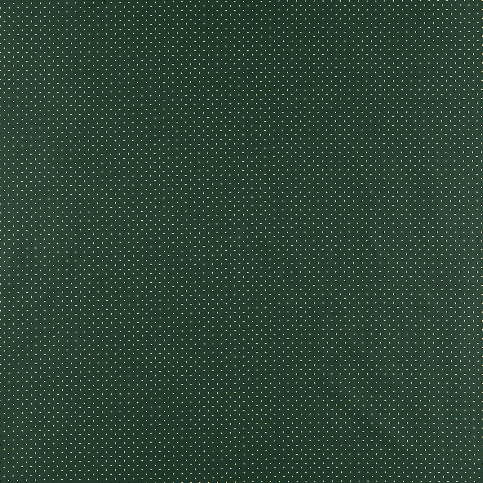 Cotton dark bottle green with gold dots 852326_pack_sp