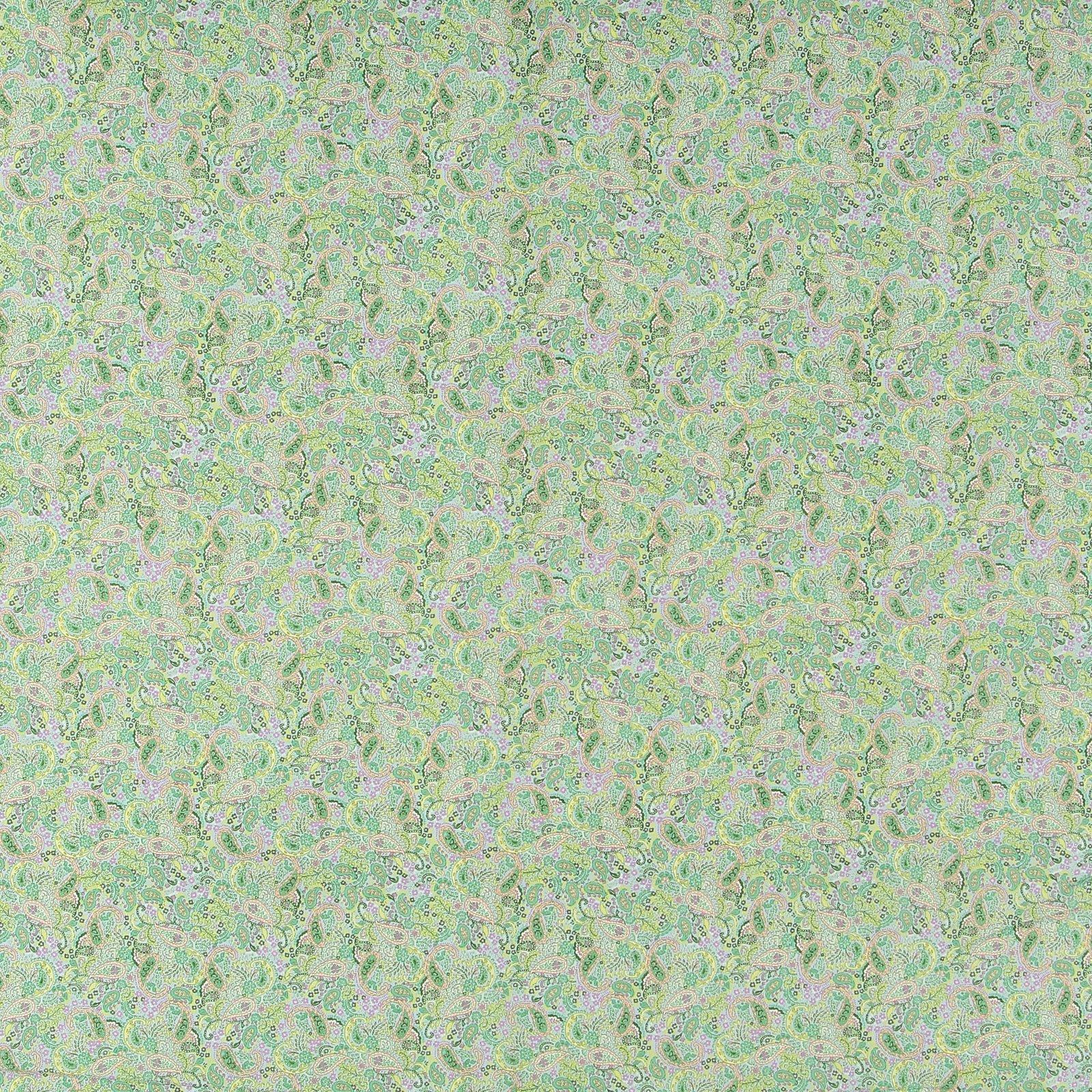Cotton light blue and mint paisley 852367_pack_sp