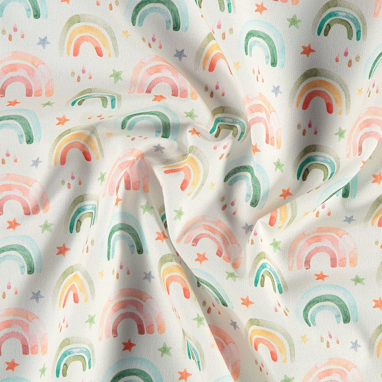 Cotton off white with rainbows 780564_pack