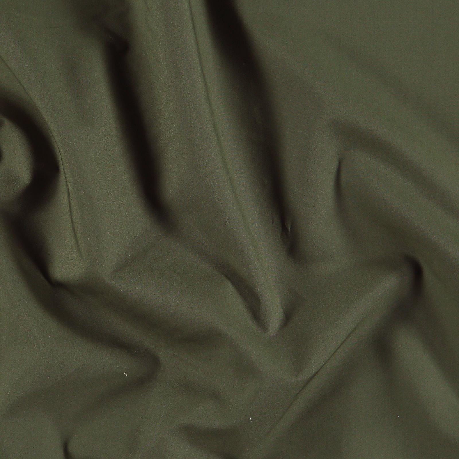 Cotton poplin army green 540122_pack