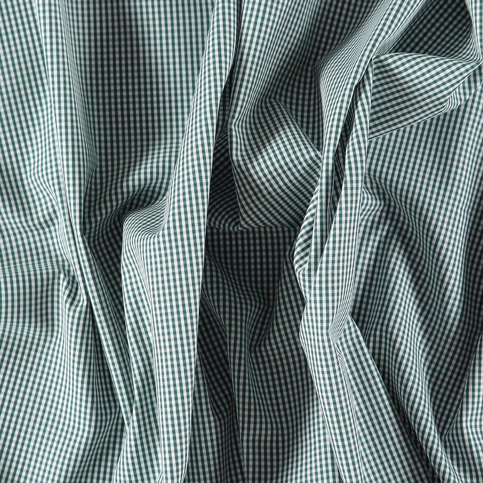 Cotton poplin green/white check 501815_pack