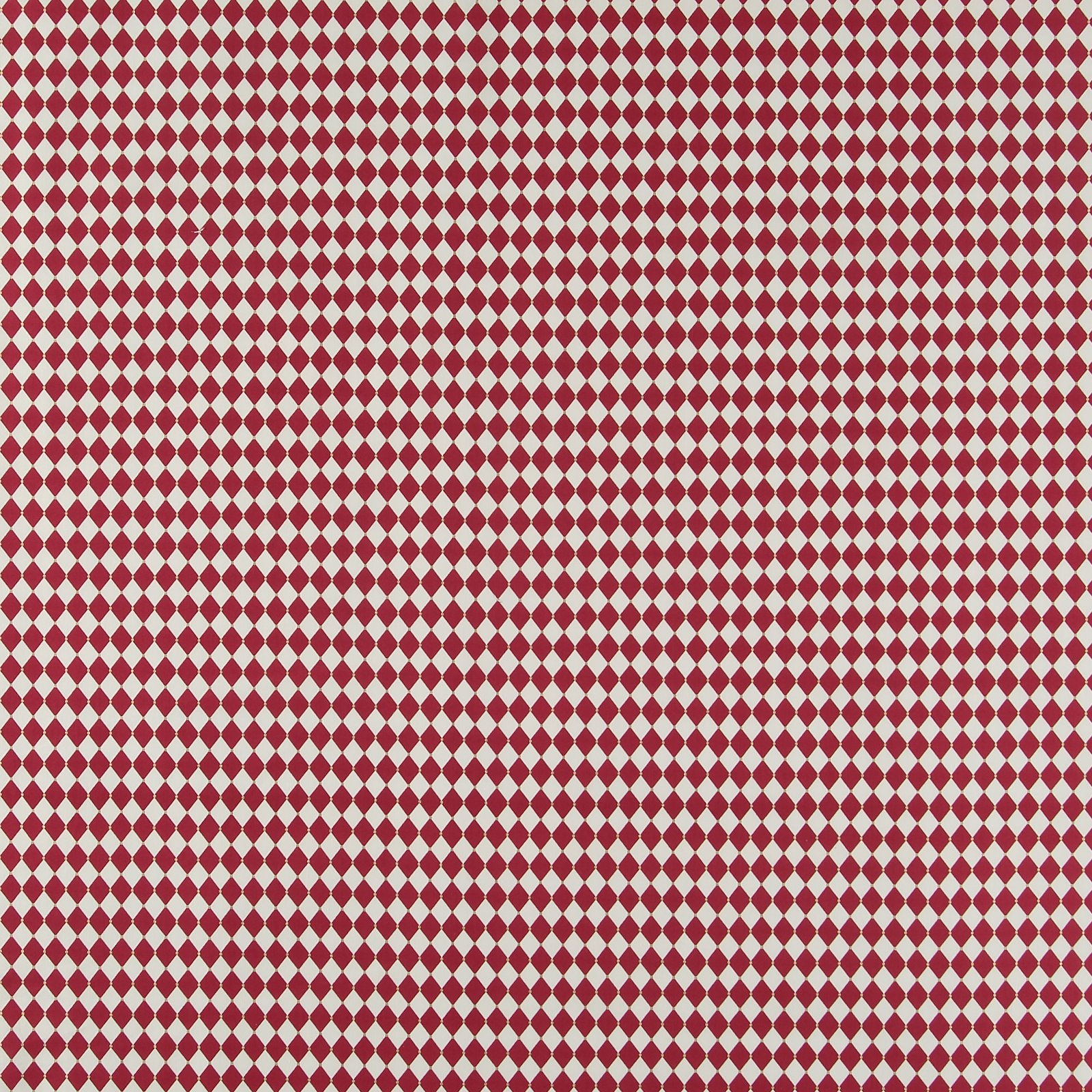 Cotton red and white harlequin checks 852395_pack_sp