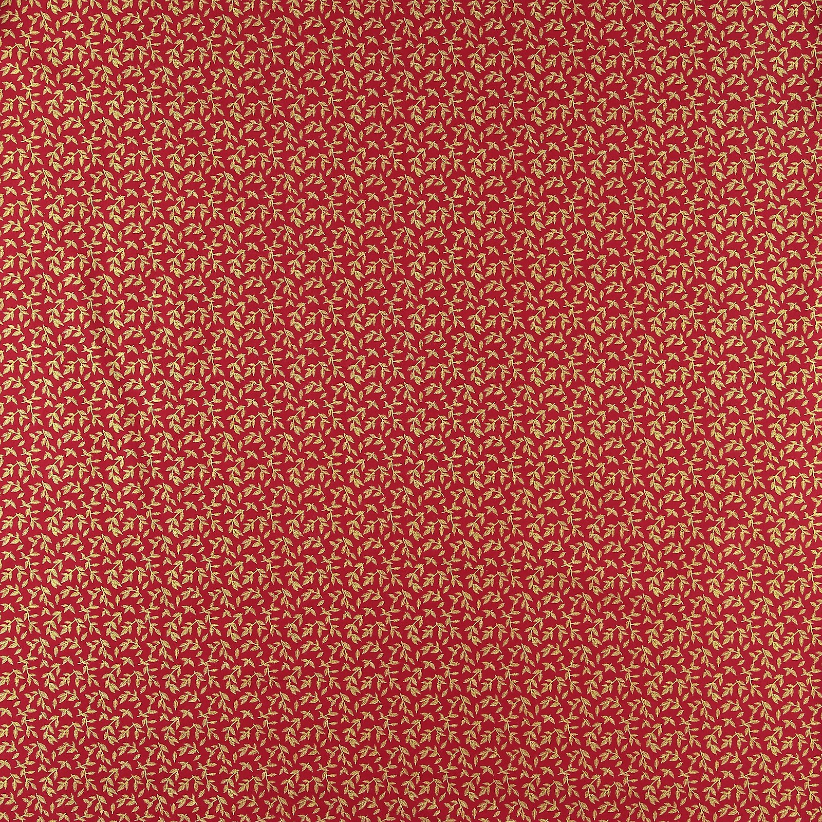 Cotton red with gold leaves 852325_pack_sp