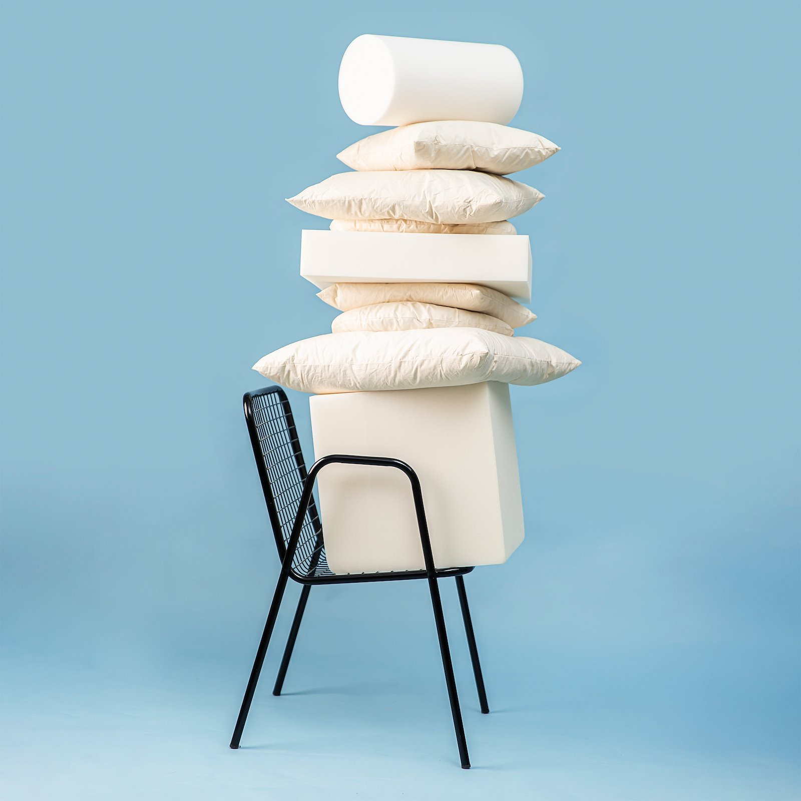 Cushion w/nature filling Ø45cm creme 38080061_38080002_38098050_38070048_38070045_38070061_38070050_38070060_bundle