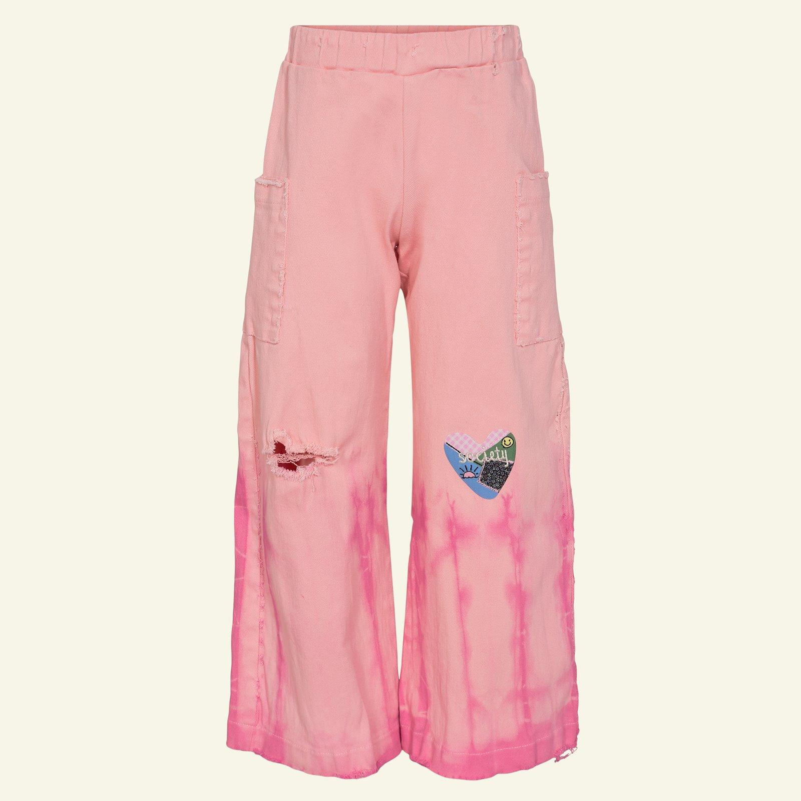 Denim w stretch dusty pink  9,5oz p60039_460856_26528_sskit