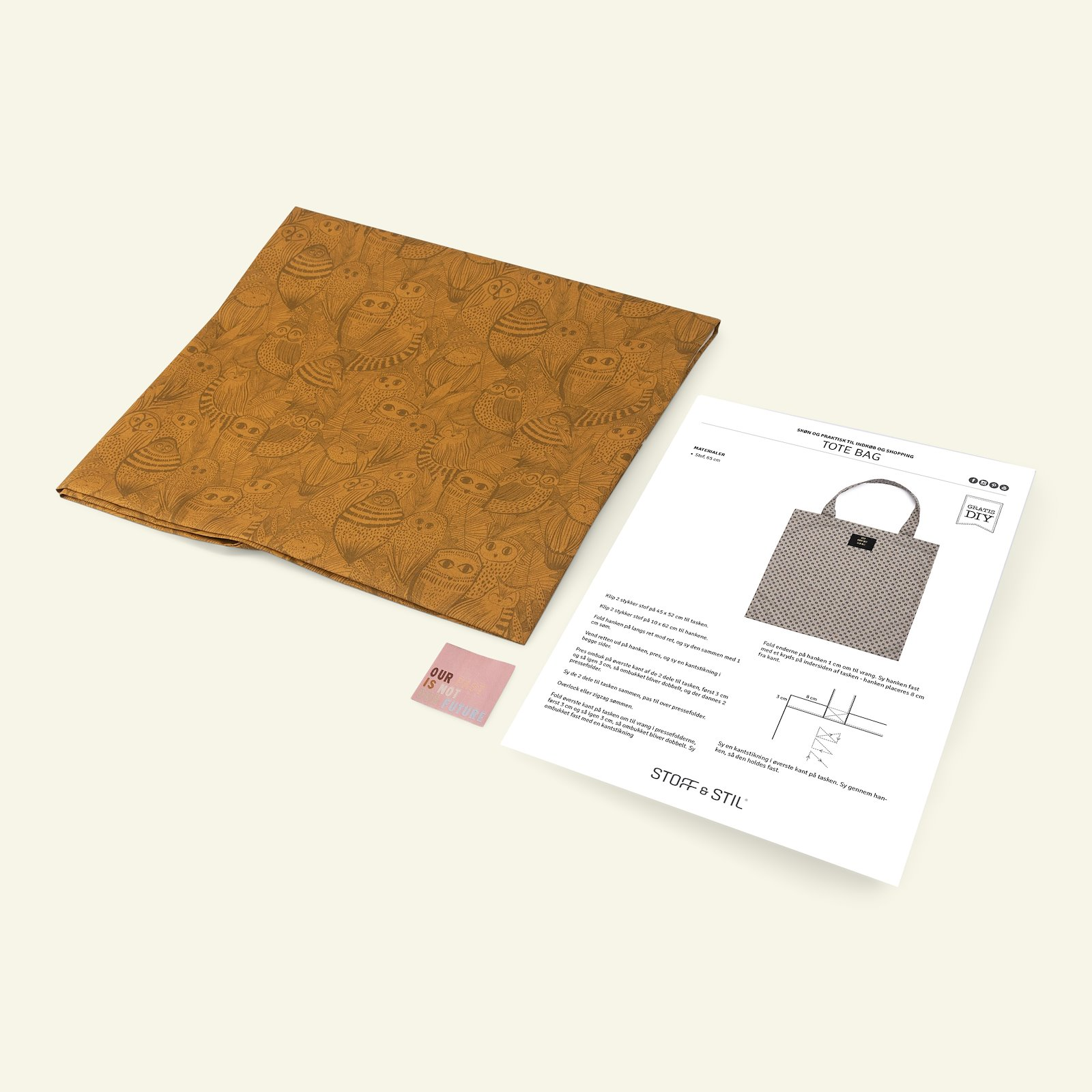 DIY Gift Box tote bag DIY28_sskit_b