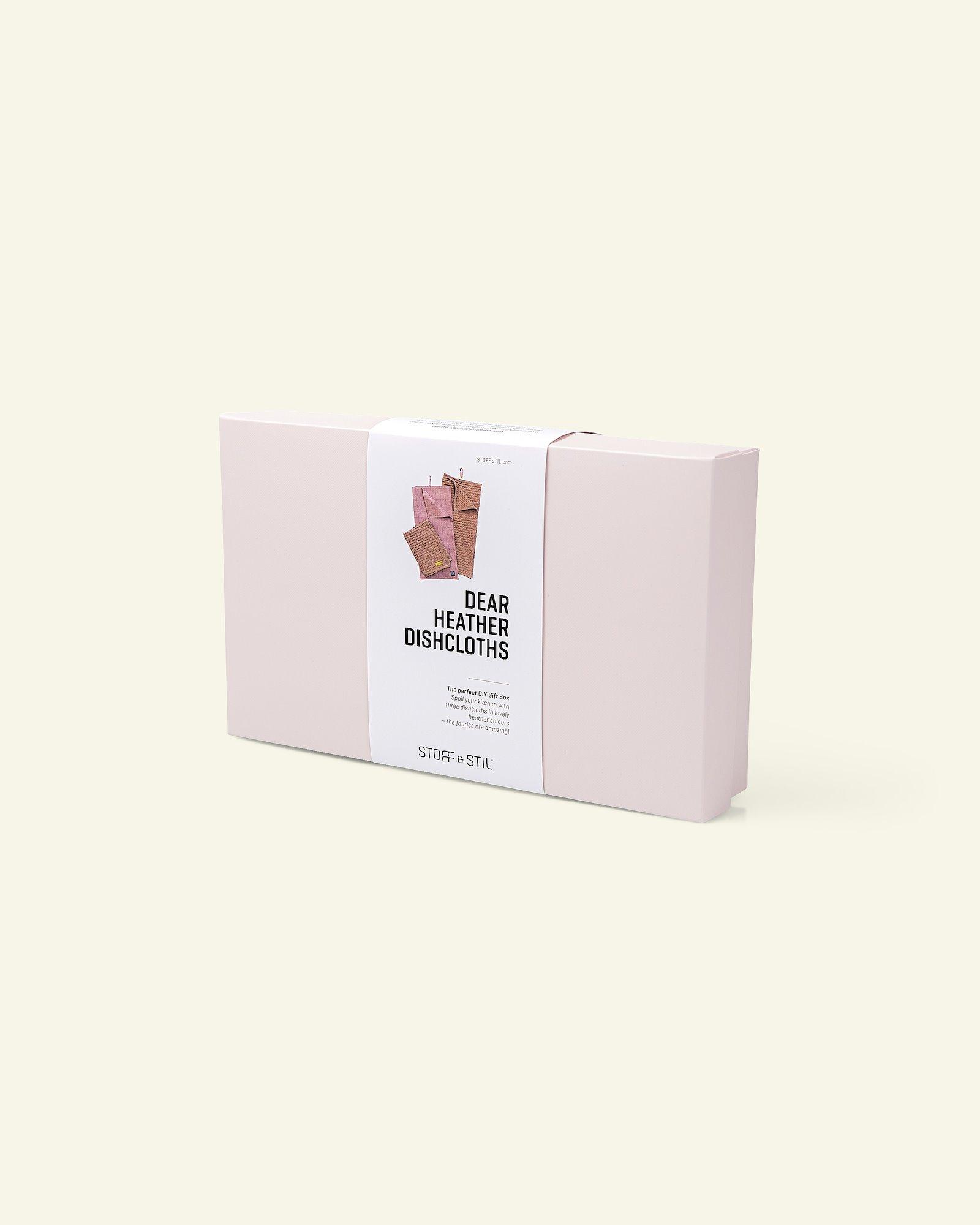 DIY Gift Box dishtowels