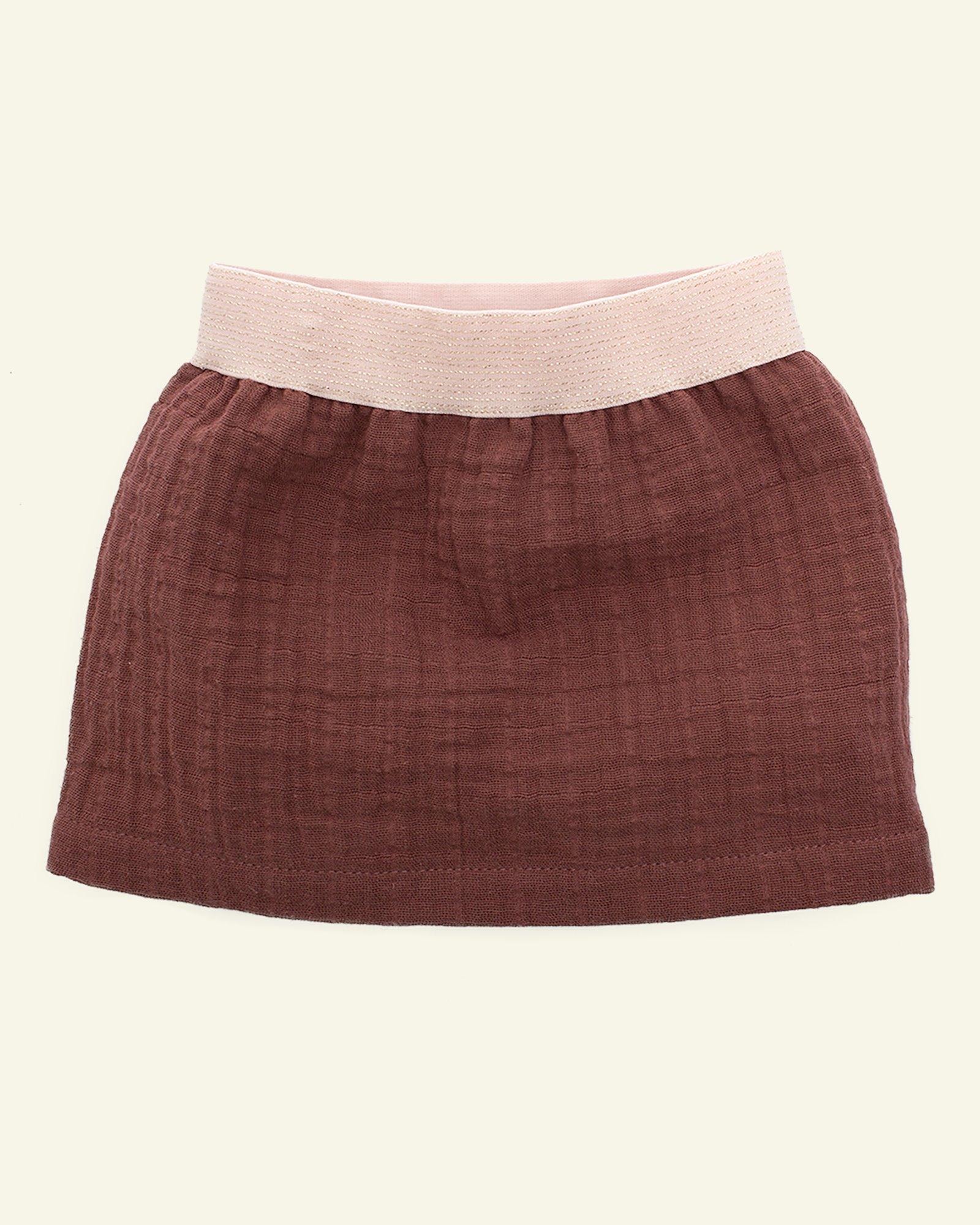 Skirt with elasticated waist
