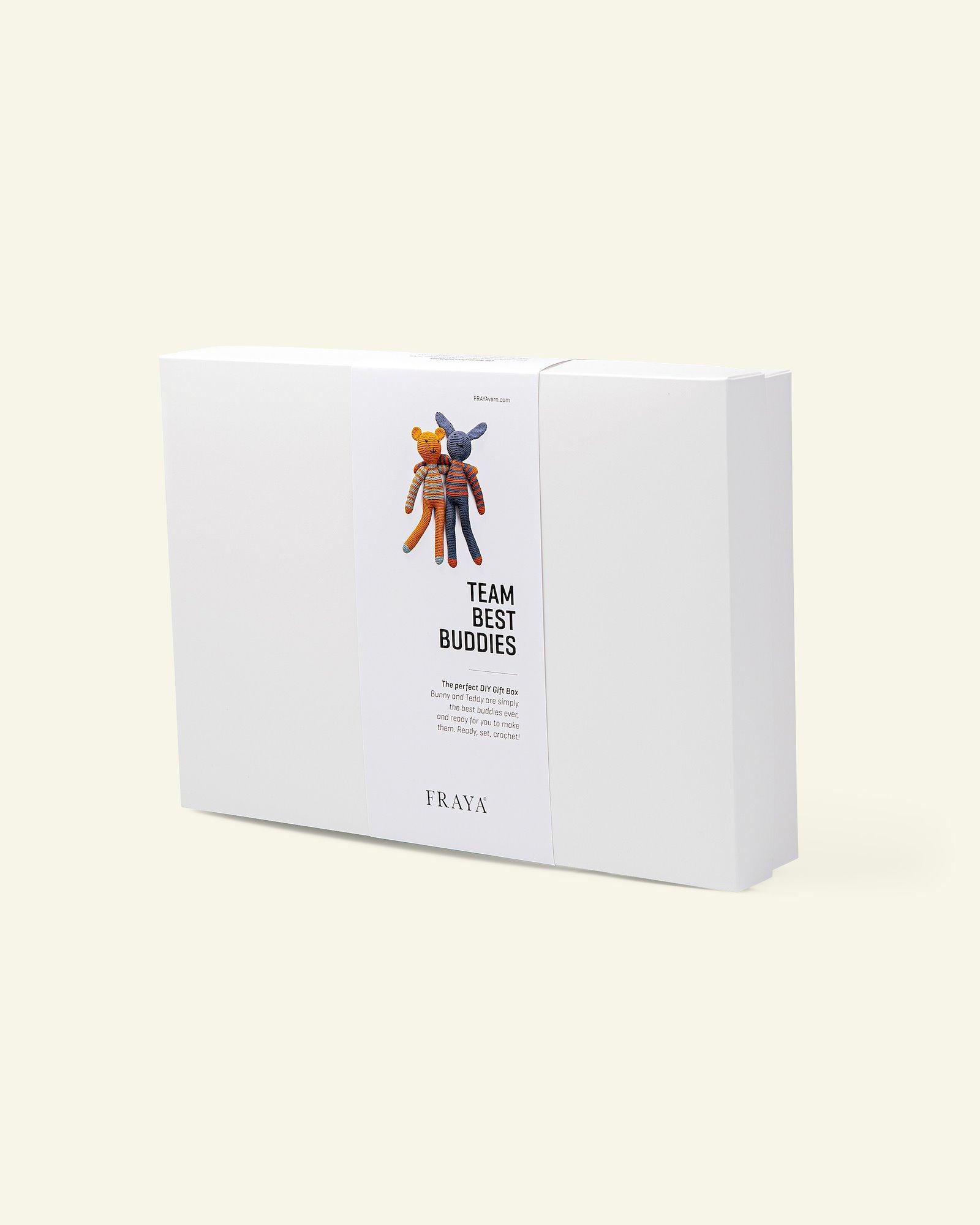 DIY Gift Box Teddybären, gehäkelt